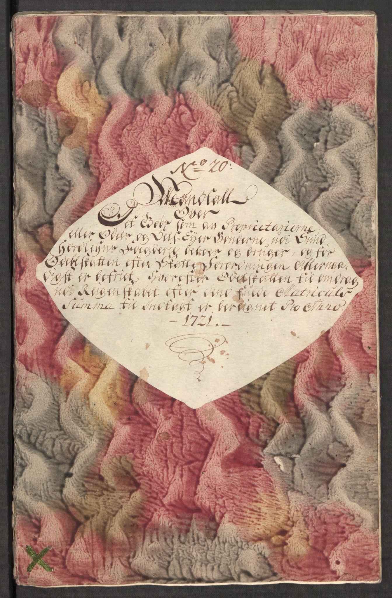 RA, Rentekammeret inntil 1814, Reviderte regnskaper, Fogderegnskap, R48/L3000: Fogderegnskap Sunnhordland og Hardanger, 1721, s. 212