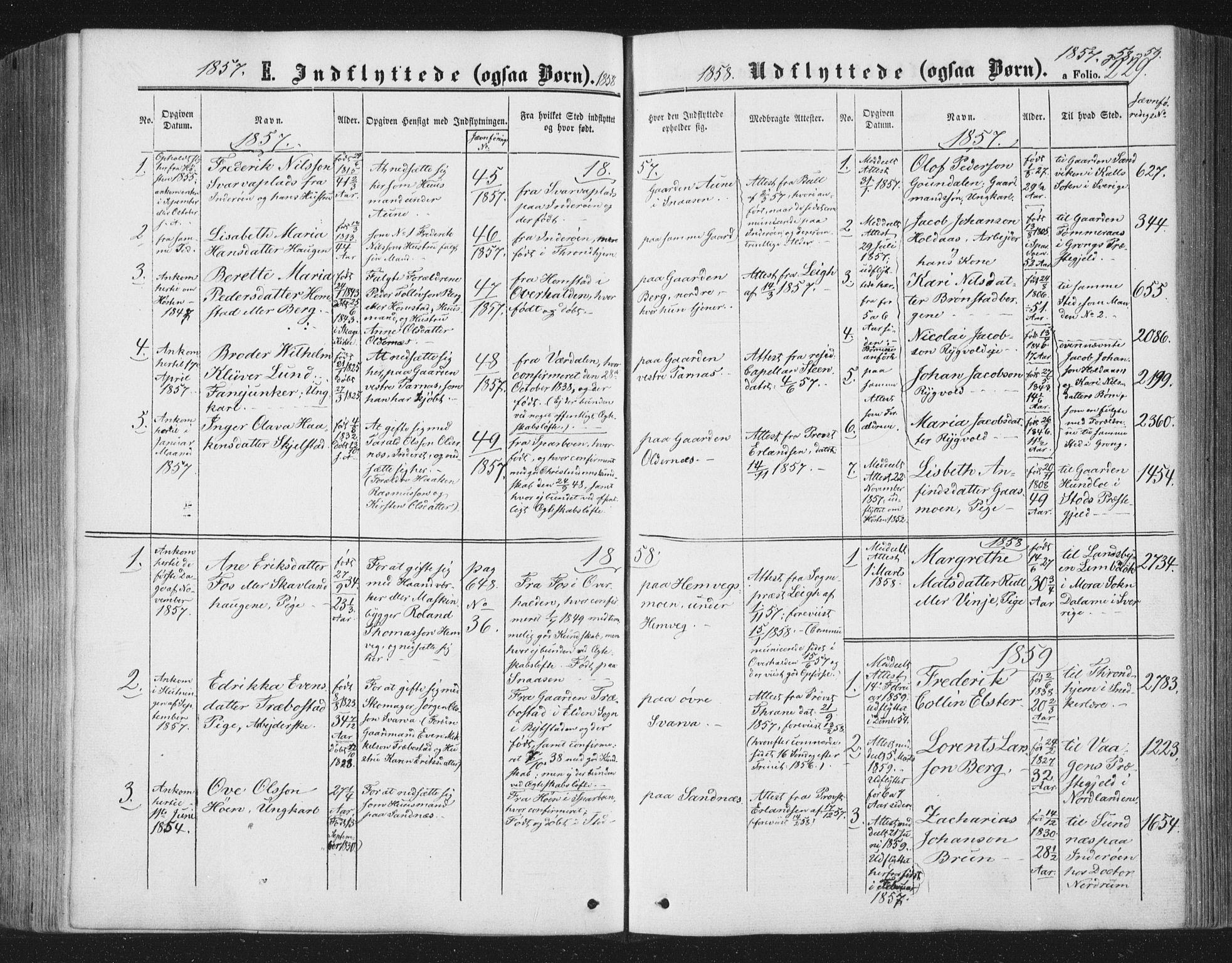 SAT, Ministerialprotokoller, klokkerbøker og fødselsregistre - Nord-Trøndelag, 749/L0472: Ministerialbok nr. 749A06, 1857-1873, s. 229