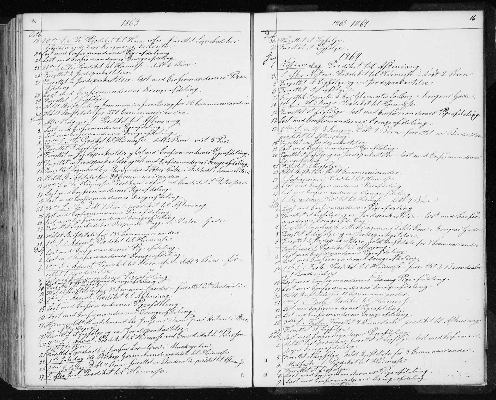 SAT, Ministerialprotokoller, klokkerbøker og fødselsregistre - Sør-Trøndelag, 601/L0053: Ministerialbok nr. 601A21, 1857-1865, s. 16