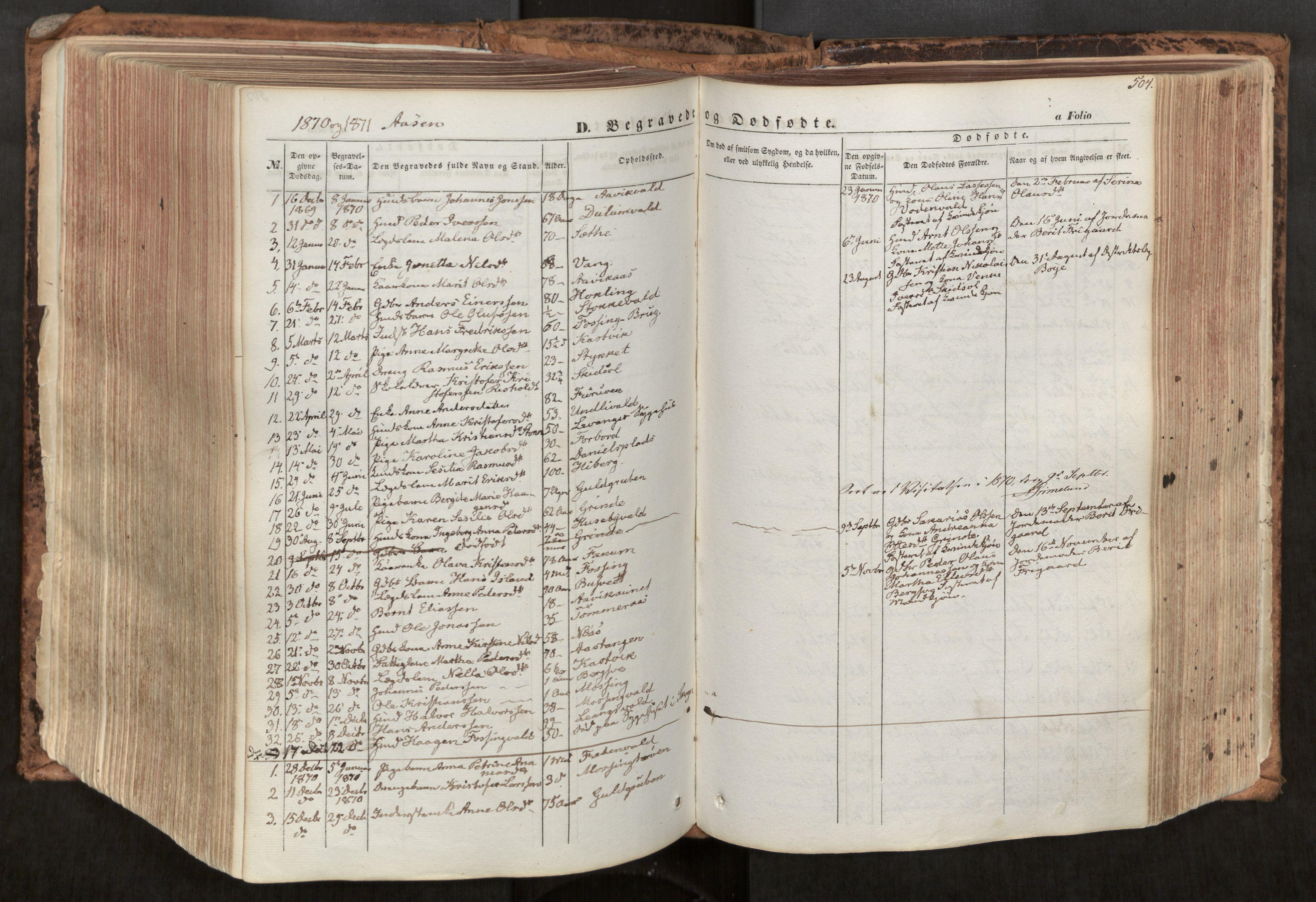 SAT, Ministerialprotokoller, klokkerbøker og fødselsregistre - Nord-Trøndelag, 713/L0116: Ministerialbok nr. 713A07, 1850-1877, s. 504