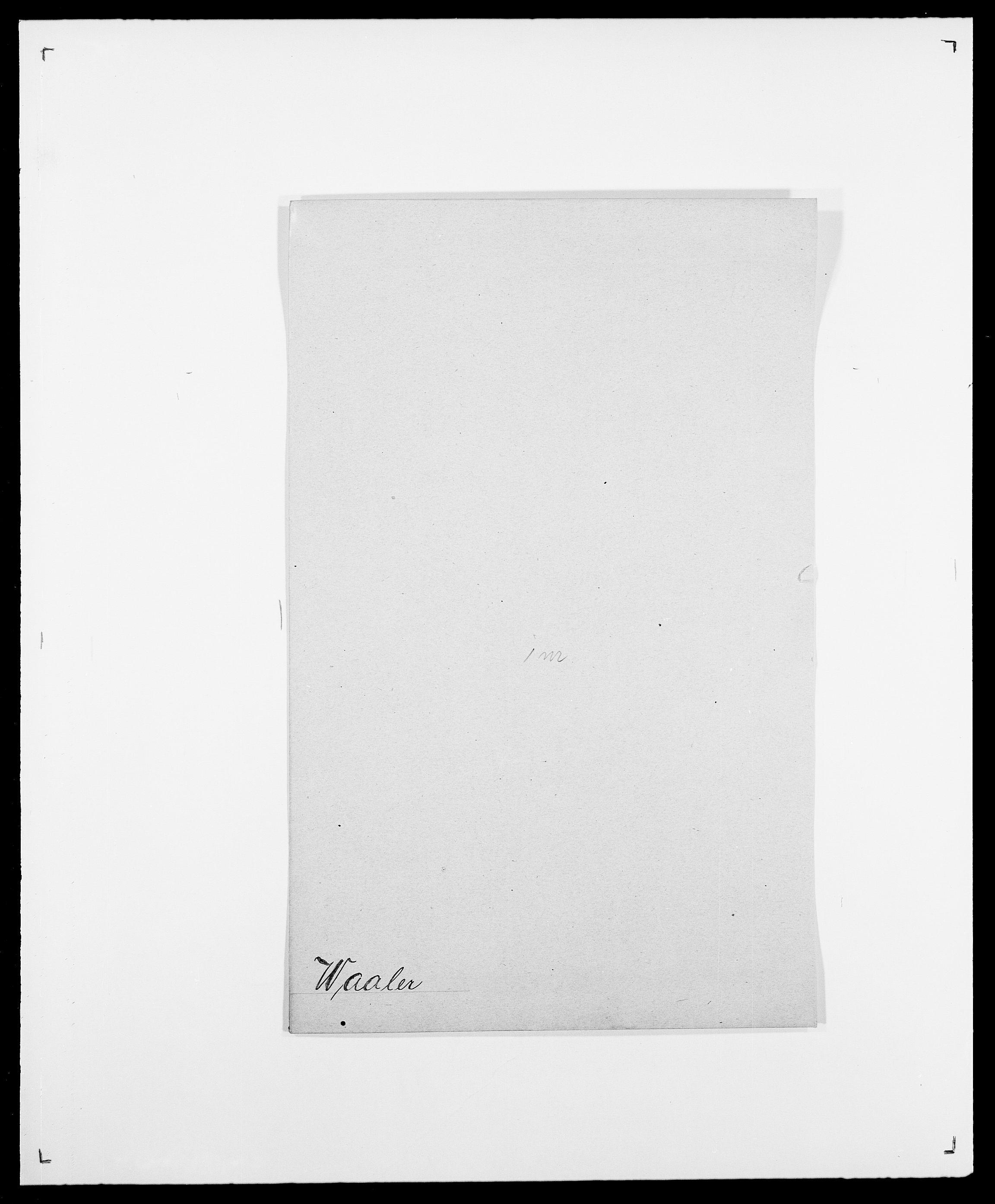 SAO, Delgobe, Charles Antoine - samling, D/Da/L0040: Usgaard - Velund, s. 58