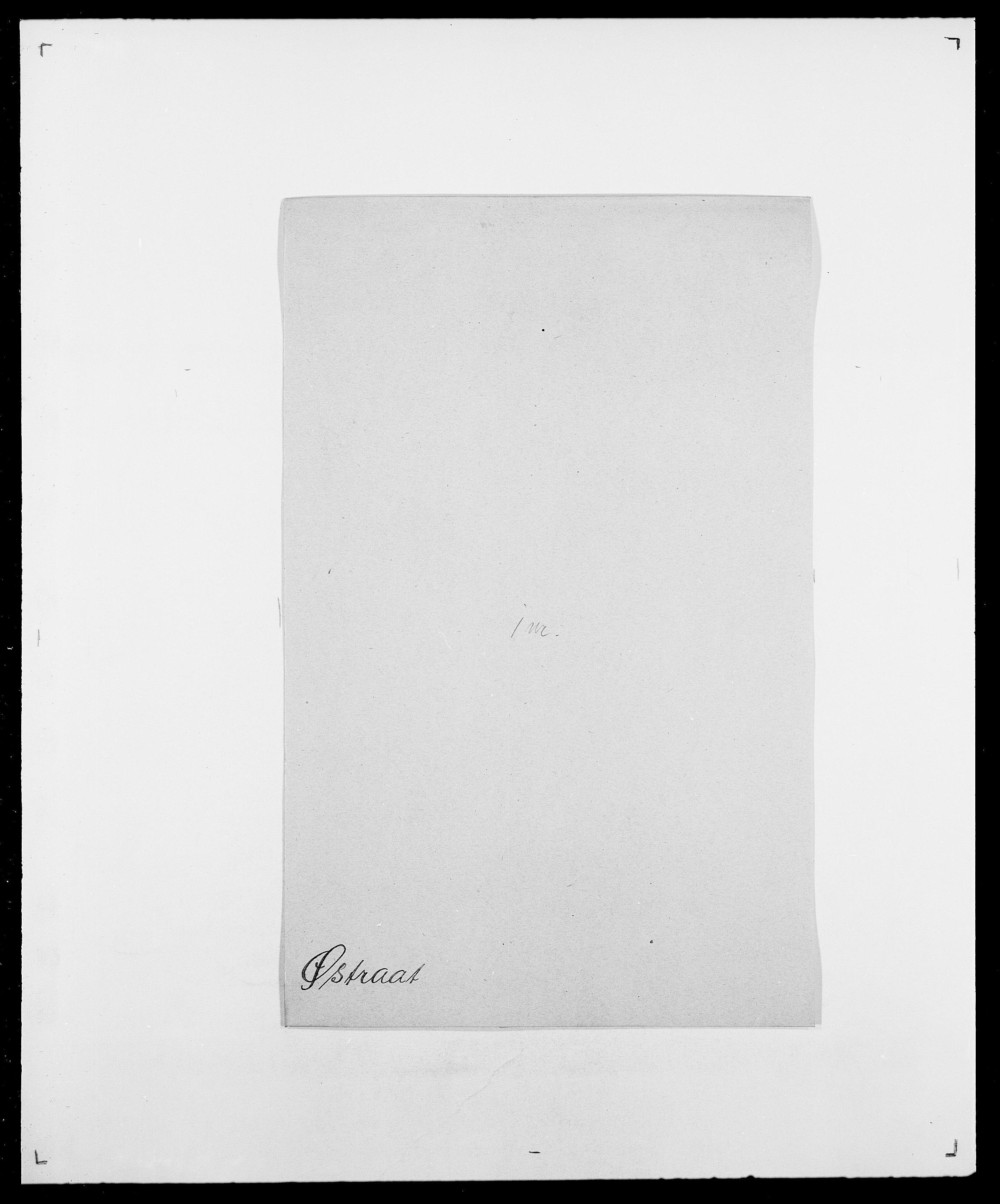 SAO, Delgobe, Charles Antoine - samling, D/Da/L0043: Wulfsberg - v. Zanten, s. 363