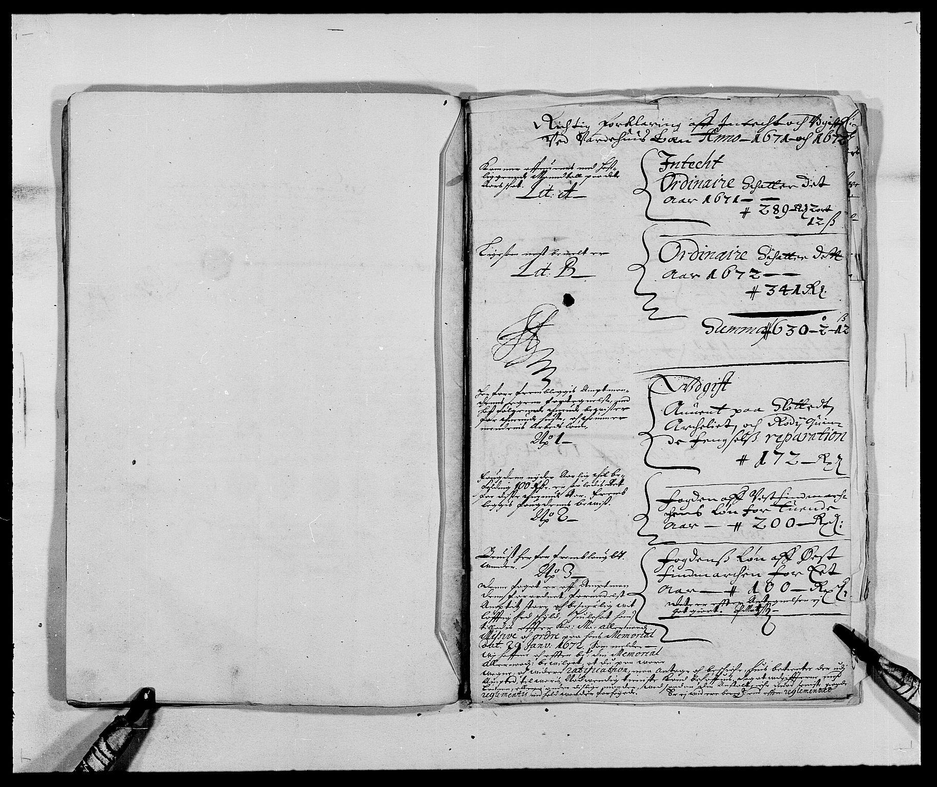 RA, Rentekammeret inntil 1814, Reviderte regnskaper, Fogderegnskap, R69/L4849: Fogderegnskap Finnmark/Vardøhus, 1661-1679, s. 257