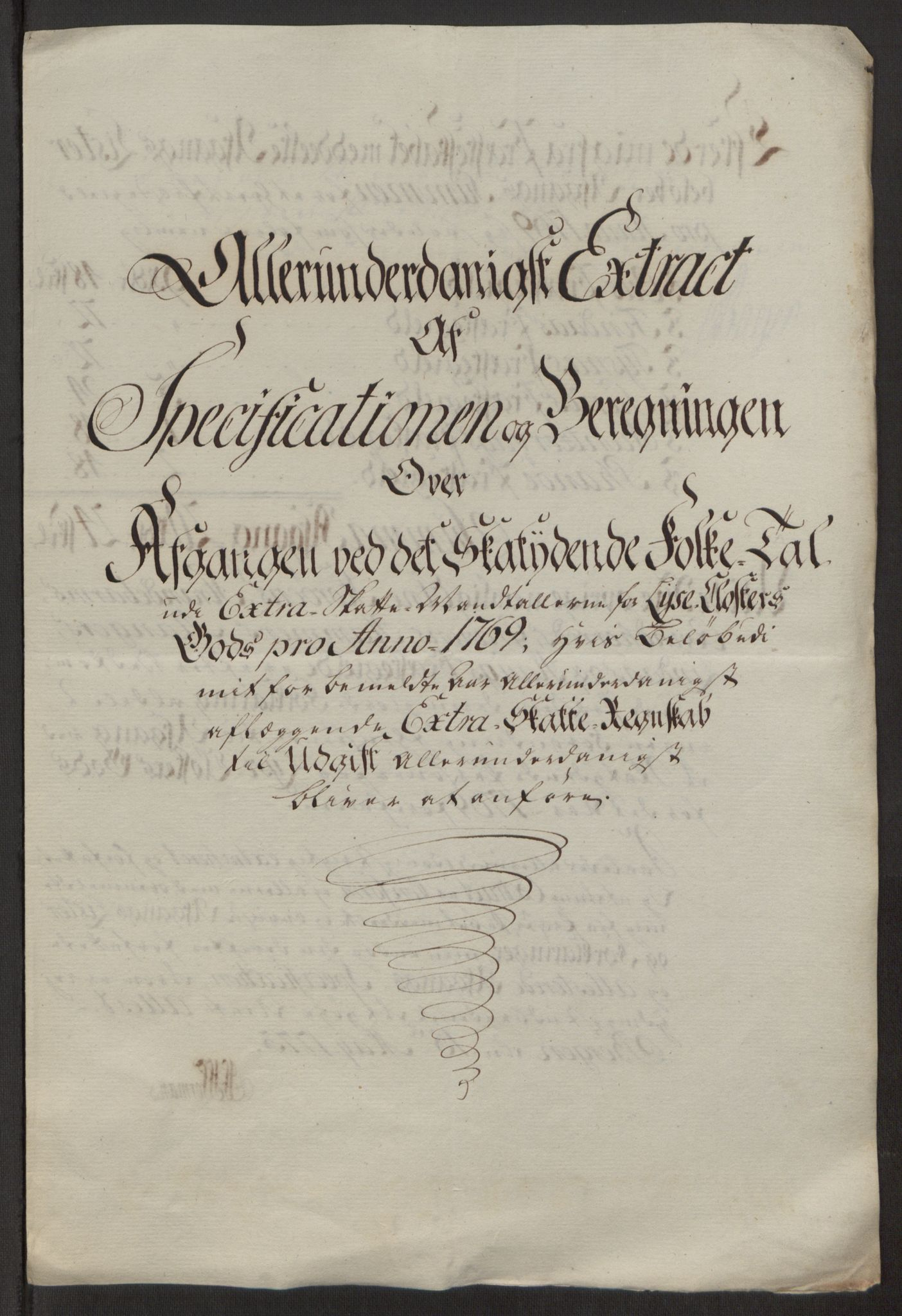 RA, Rentekammeret inntil 1814, Reviderte regnskaper, Fogderegnskap, R50/L3180: Ekstraskatten Lyse kloster, 1762-1783, s. 227