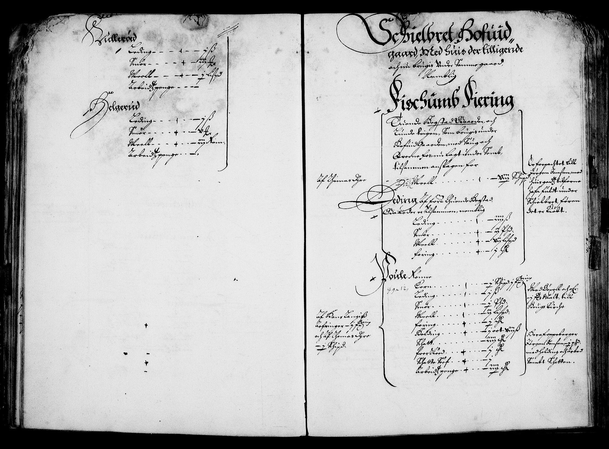 RA, Rentekammeret inntil 1814, Realistisk ordnet avdeling, On/L0001: Statens gods, 1651, s. 44