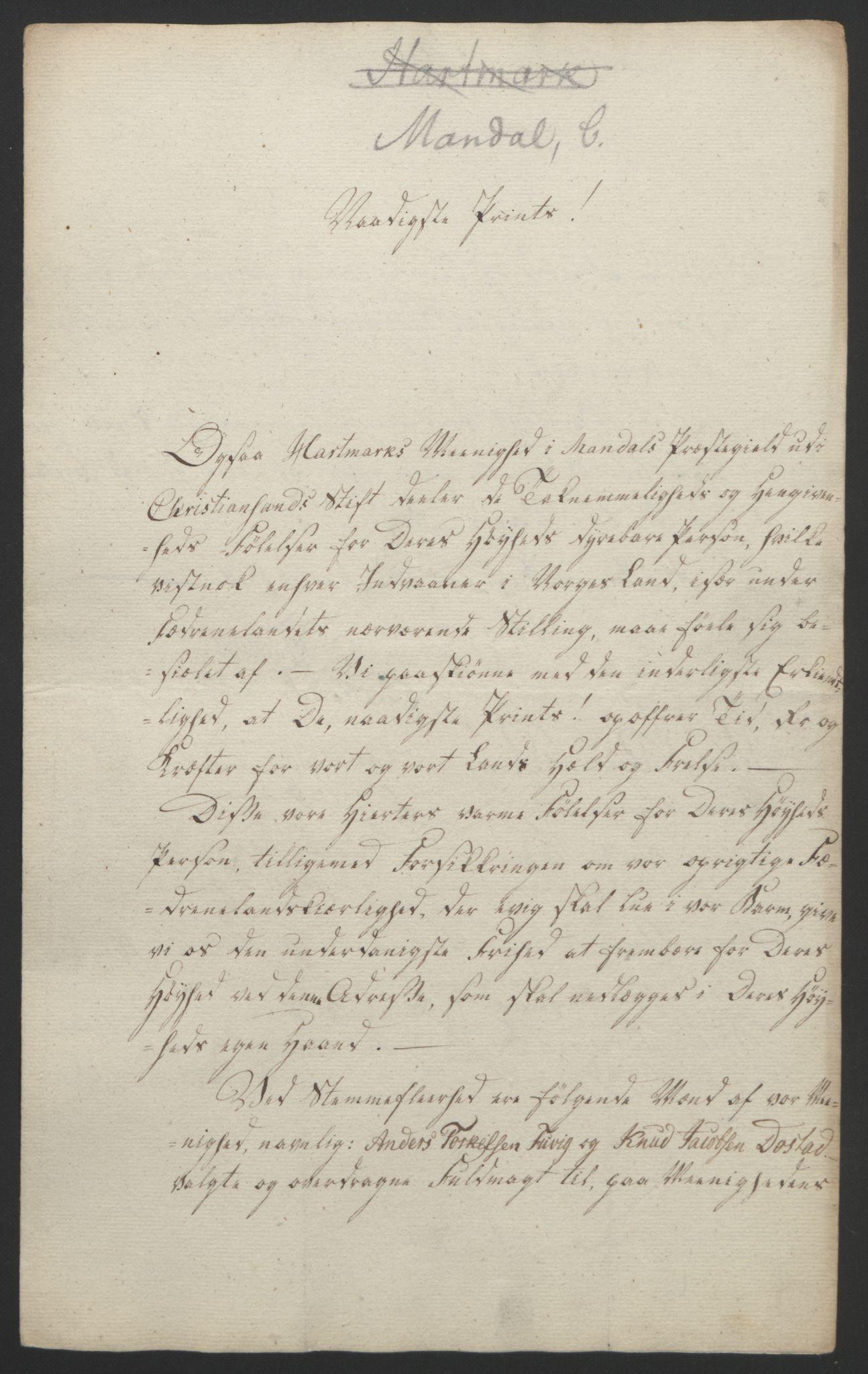 RA, Statsrådssekretariatet, D/Db/L0008: Fullmakter for Eidsvollsrepresentantene i 1814. , 1814, s. 130