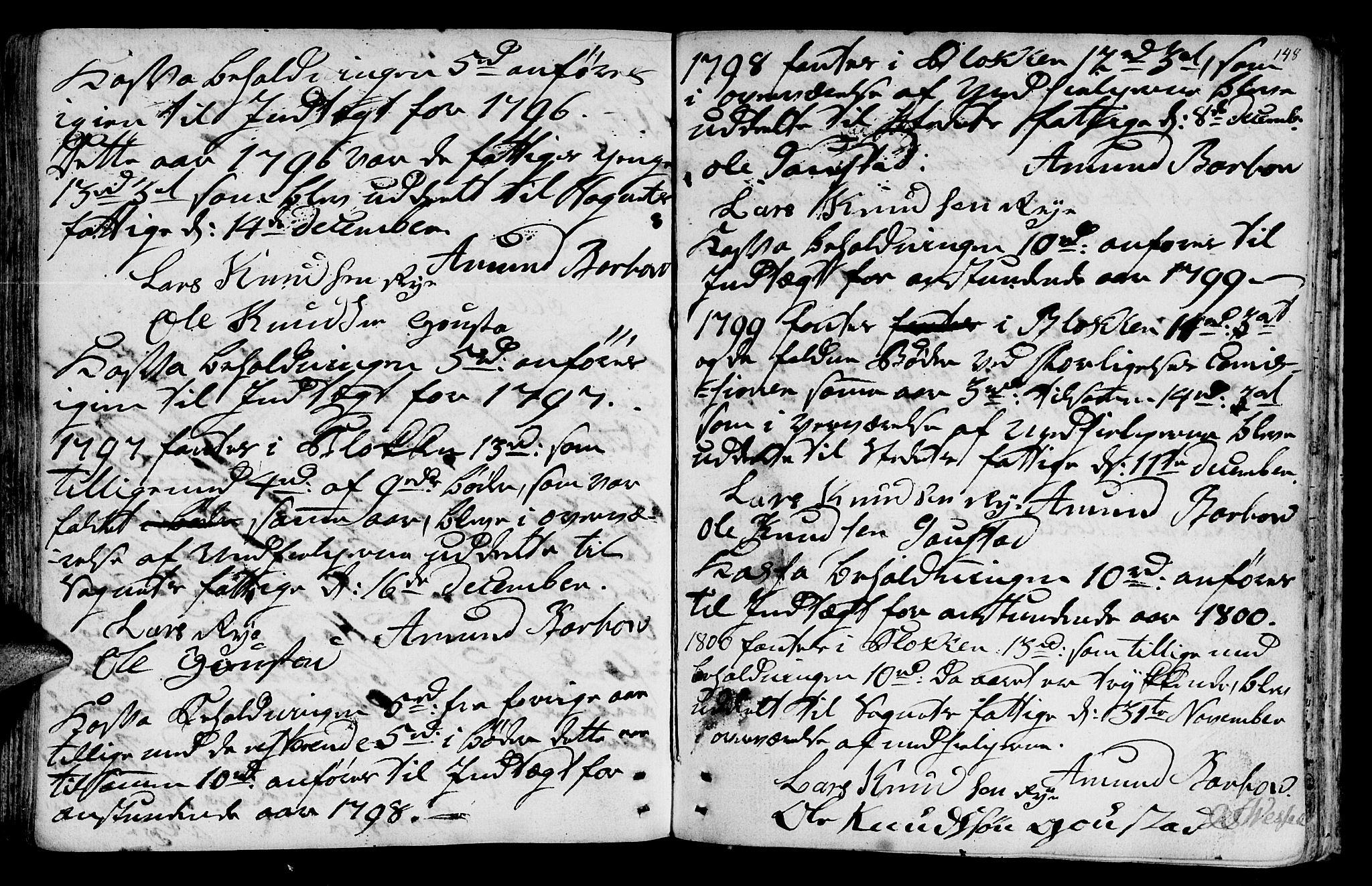 SAT, Ministerialprotokoller, klokkerbøker og fødselsregistre - Sør-Trøndelag, 612/L0370: Ministerialbok nr. 612A04, 1754-1802, s. 148