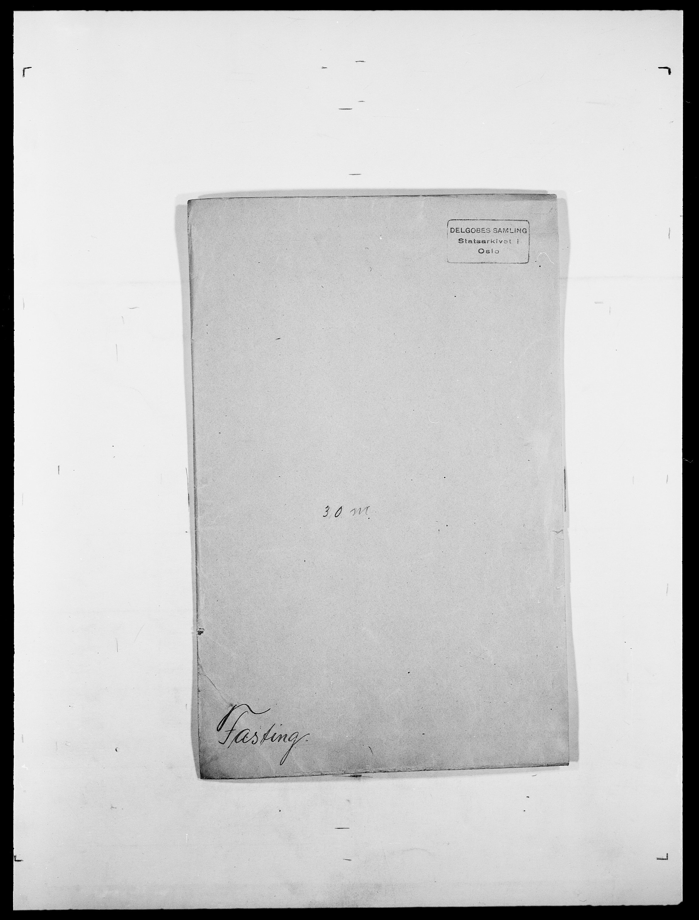SAO, Delgobe, Charles Antoine - samling, D/Da/L0011: Fahlander - Flood, Flod, s. 200