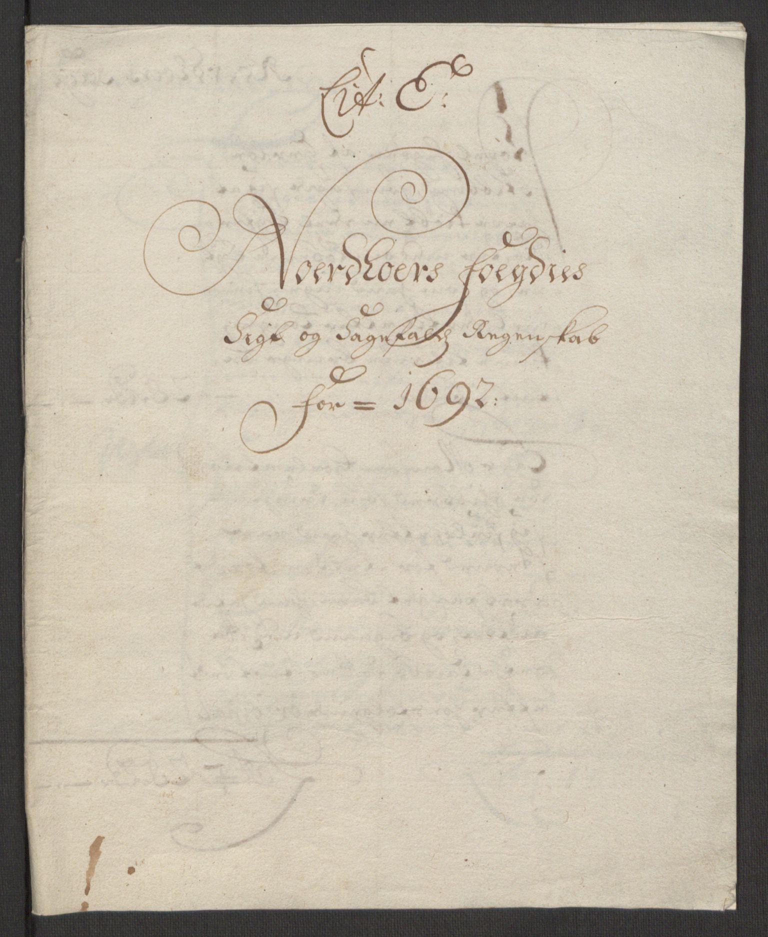 RA, Rentekammeret inntil 1814, Reviderte regnskaper, Fogderegnskap, R51/L3181: Fogderegnskap Nordhordland og Voss, 1691-1692, s. 320