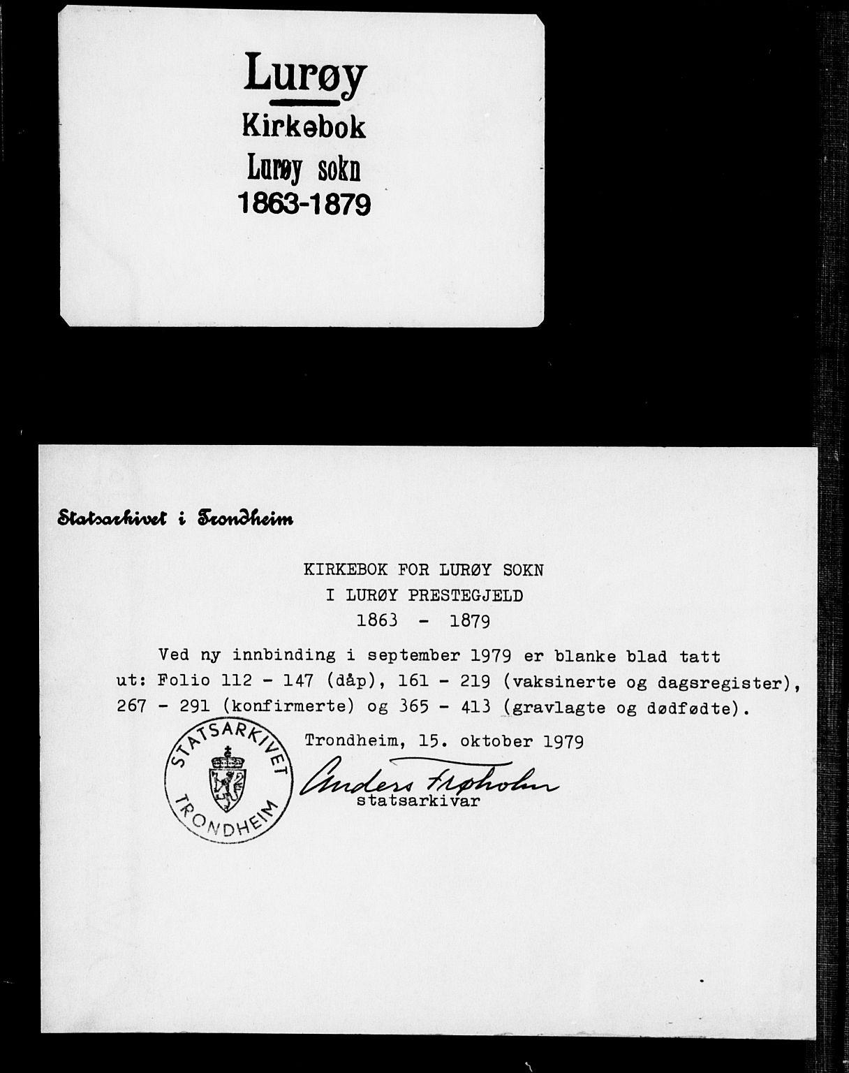 SAT, Ministerialprotokoller, klokkerbøker og fødselsregistre - Nordland, 839/L0567: Ministerialbok nr. 839A04, 1863-1879