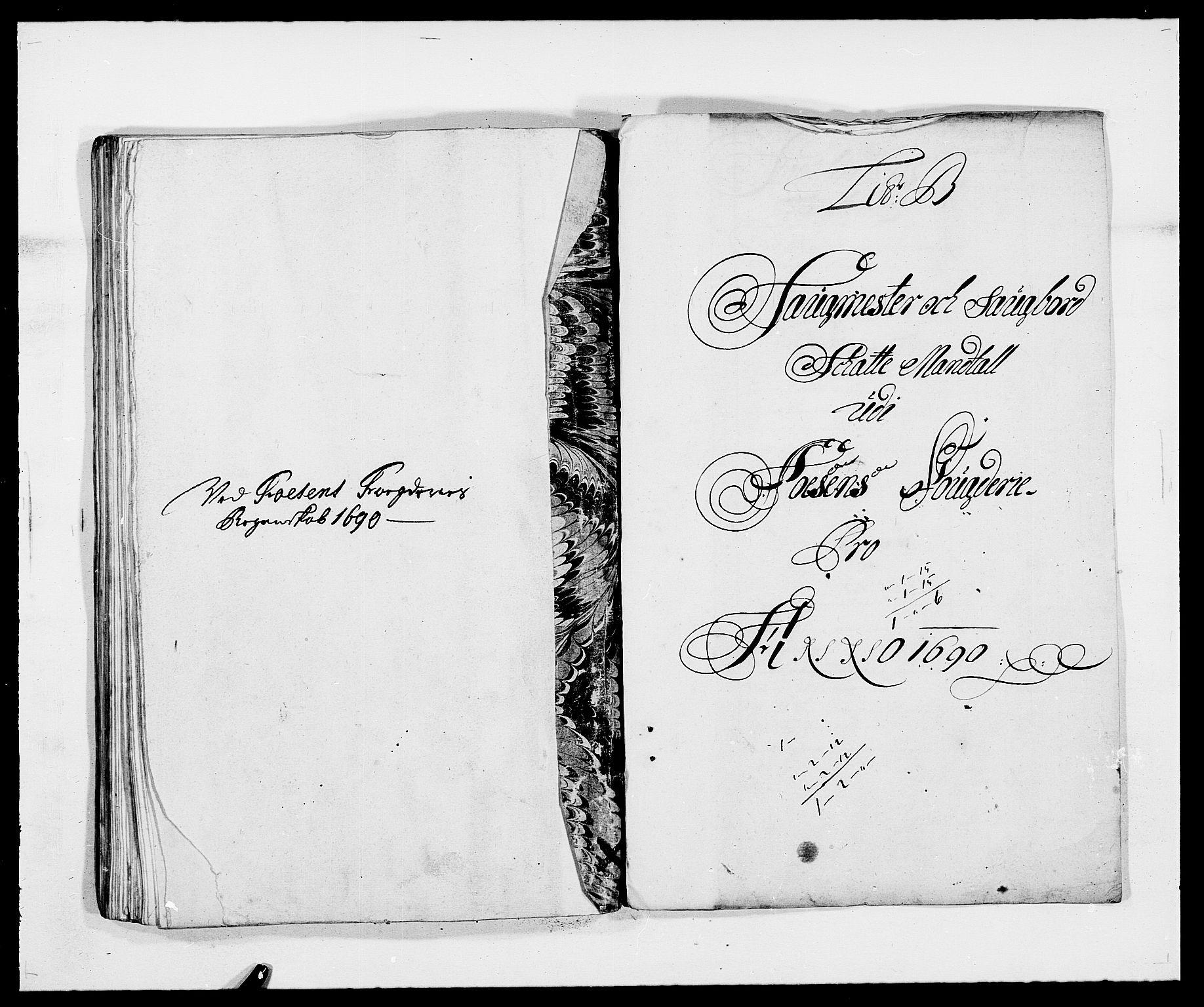 RA, Rentekammeret inntil 1814, Reviderte regnskaper, Fogderegnskap, R57/L3848: Fogderegnskap Fosen, 1690-1691, s. 65
