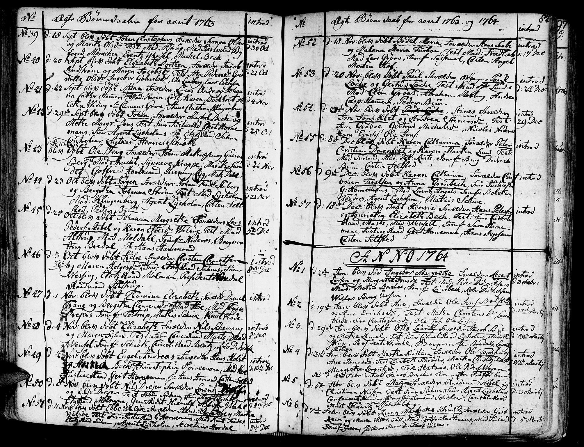SAT, Ministerialprotokoller, klokkerbøker og fødselsregistre - Sør-Trøndelag, 602/L0103: Ministerialbok nr. 602A01, 1732-1774, s. 82