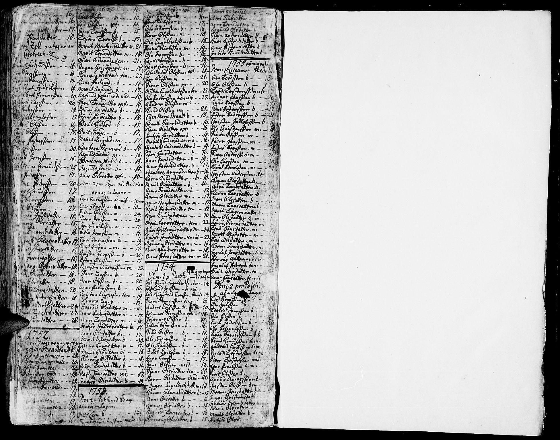 SAH, Vågå prestekontor, Ministerialbok nr. 1, 1739-1810, s. 234