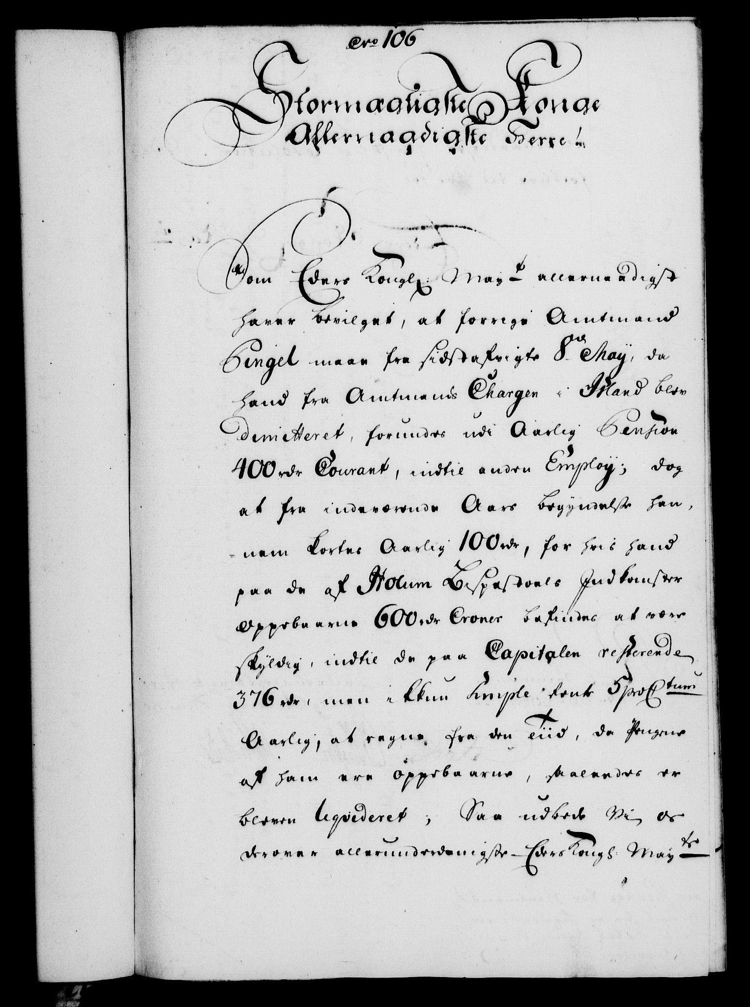 RA, Rentekammeret, Kammerkanselliet, G/Gf/Gfa/L0034: Norsk relasjons- og resolusjonsprotokoll (merket RK 52.34), 1752, s. 585