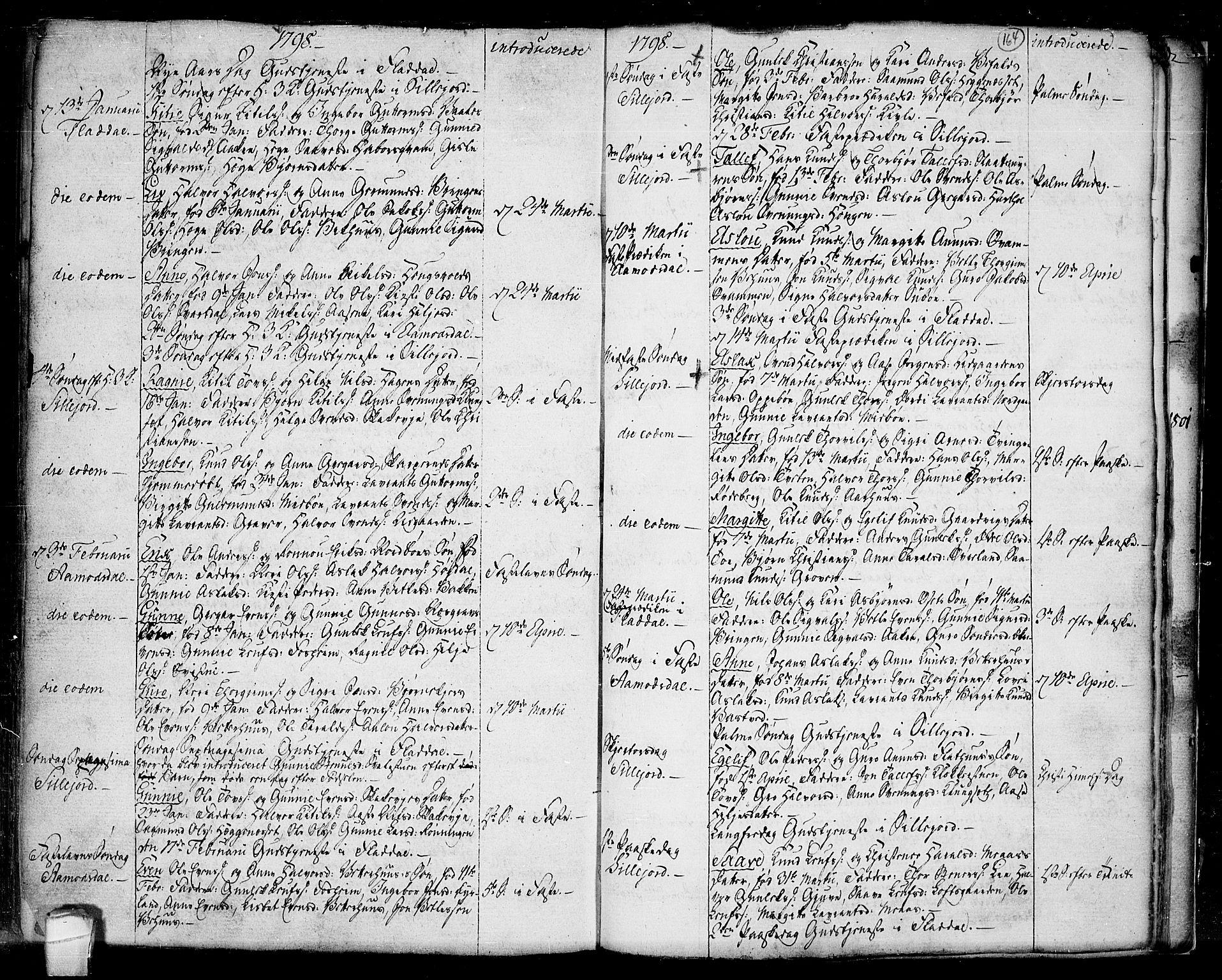 SAKO, Seljord kirkebøker, F/Fa/L0007: Ministerialbok nr. I 7, 1755-1800, s. 164