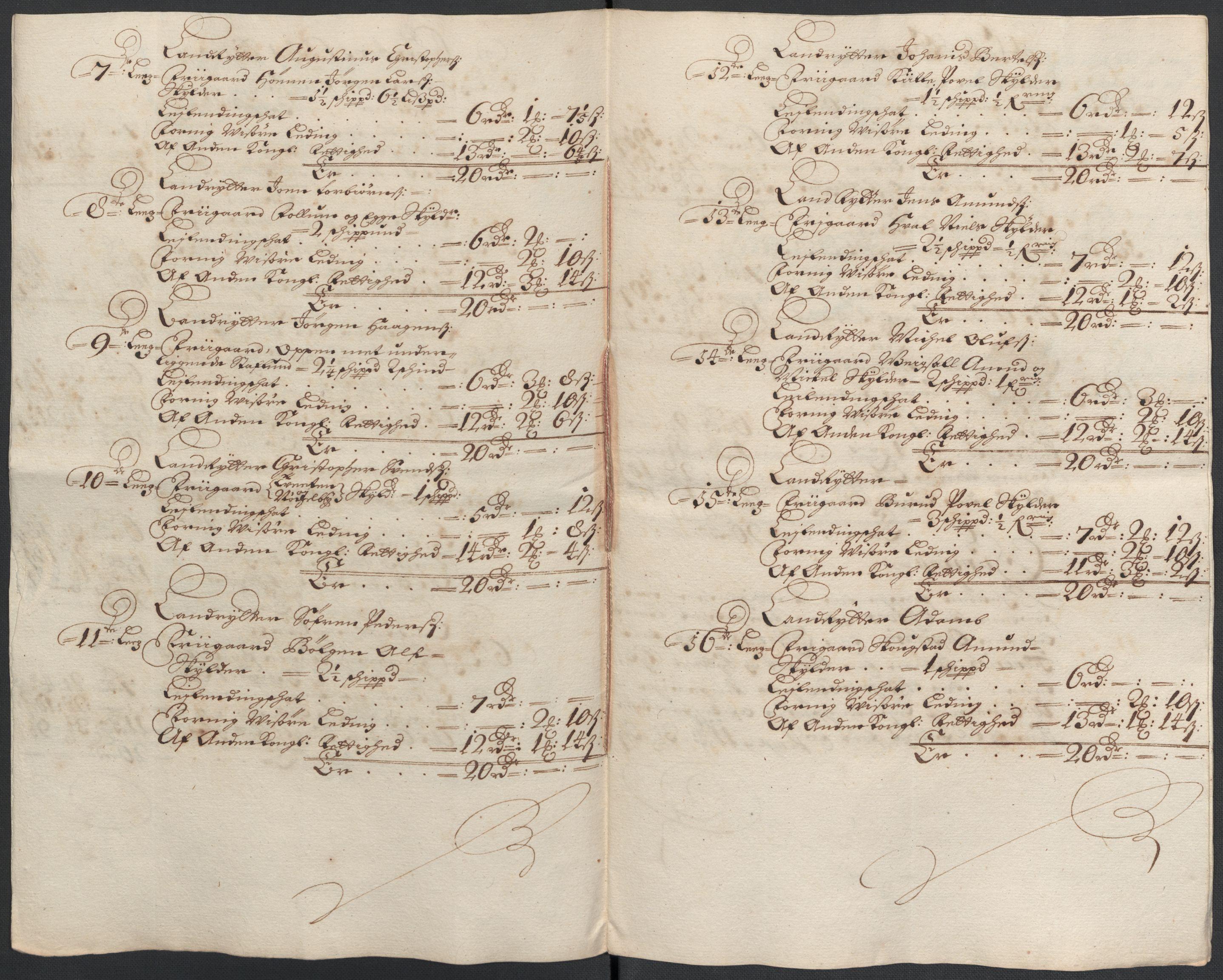 RA, Rentekammeret inntil 1814, Reviderte regnskaper, Fogderegnskap, R21/L1447: Fogderegnskap Ringerike og Hallingdal, 1687-1689, s. 246