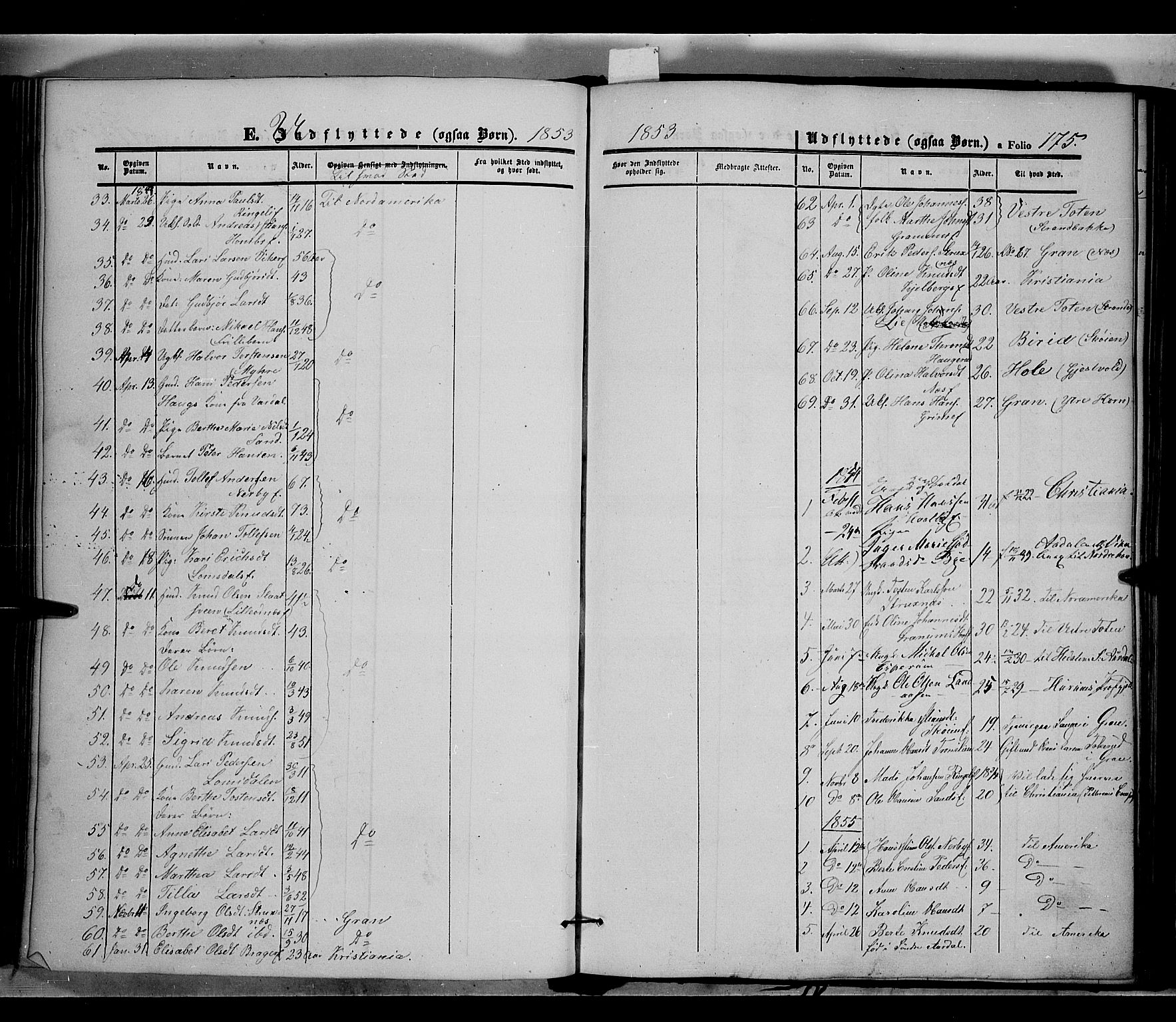 SAH, Land prestekontor, Ministerialbok nr. 9, 1847-1859, s. 175