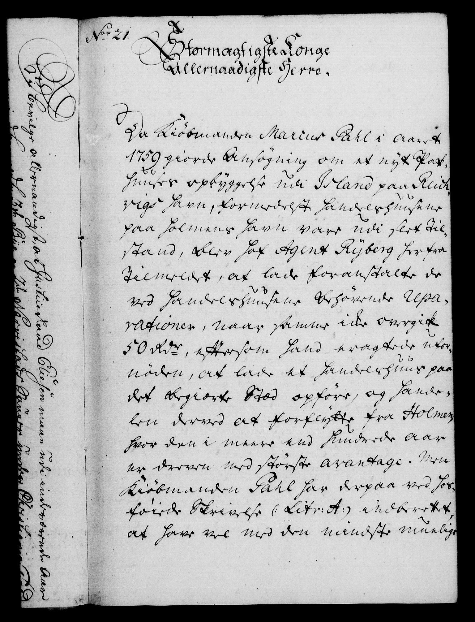 RA, Rentekammeret, Kammerkanselliet, G/Gf/Gfa/L0043: Norsk relasjons- og resolusjonsprotokoll (merket RK 52.43), 1761, s. 92