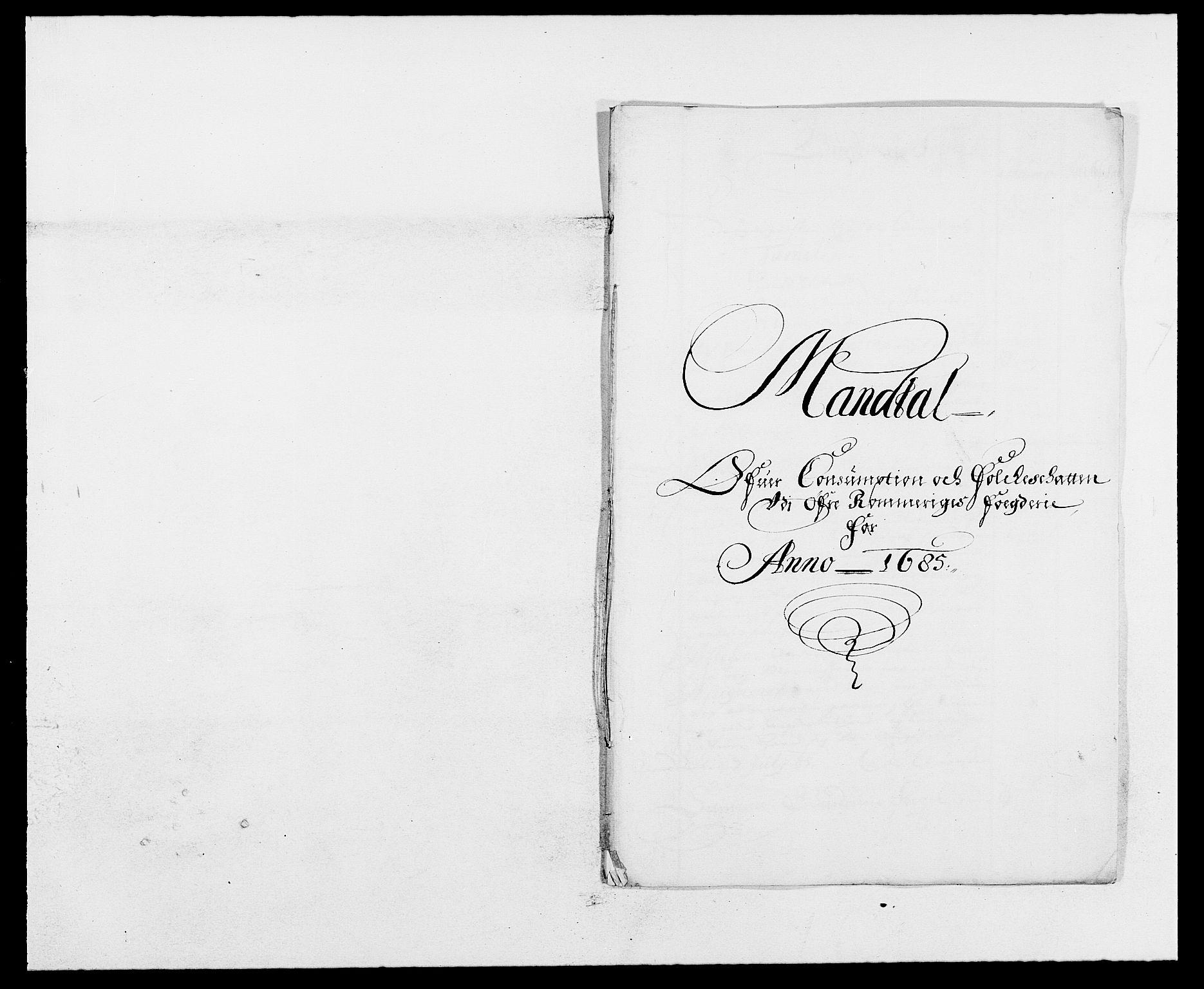 RA, Rentekammeret inntil 1814, Reviderte regnskaper, Fogderegnskap, R12/L0699: Fogderegnskap Øvre Romerike, 1685-1686, s. 77