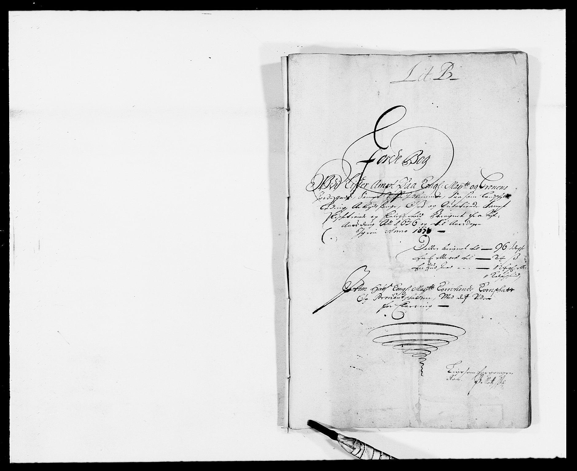 RA, Rentekammeret inntil 1814, Reviderte regnskaper, Fogderegnskap, R41/L2529: Fogderegnskap Lista, 1675-1676, s. 121