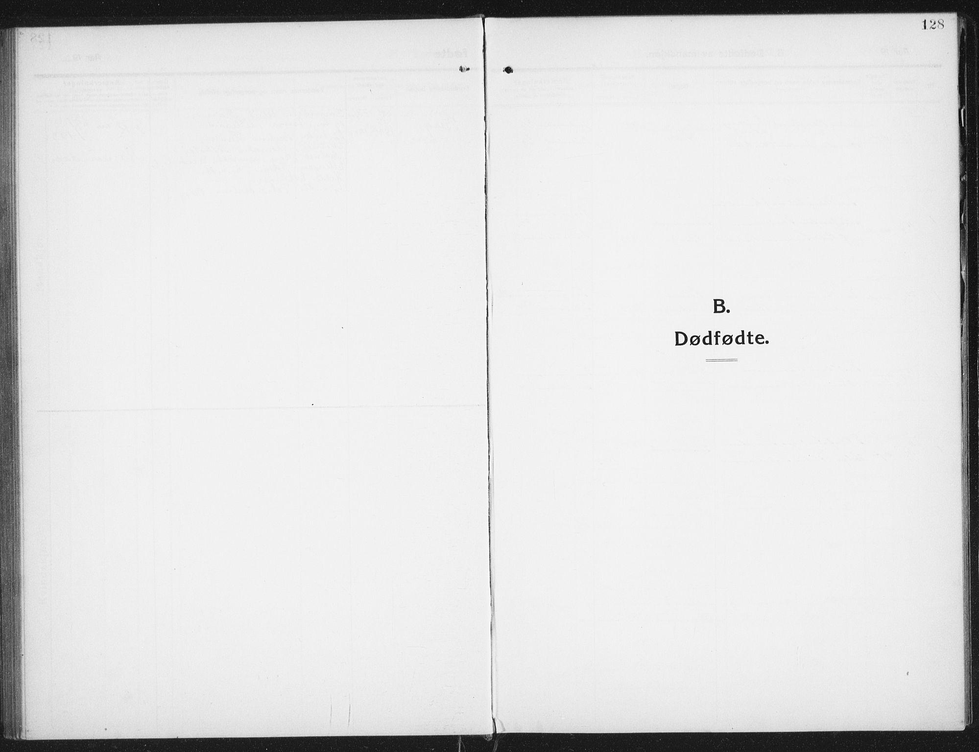 SAT, Ministerialprotokoller, klokkerbøker og fødselsregistre - Nordland, 882/L1183: Klokkerbok nr. 882C01, 1911-1938, s. 128