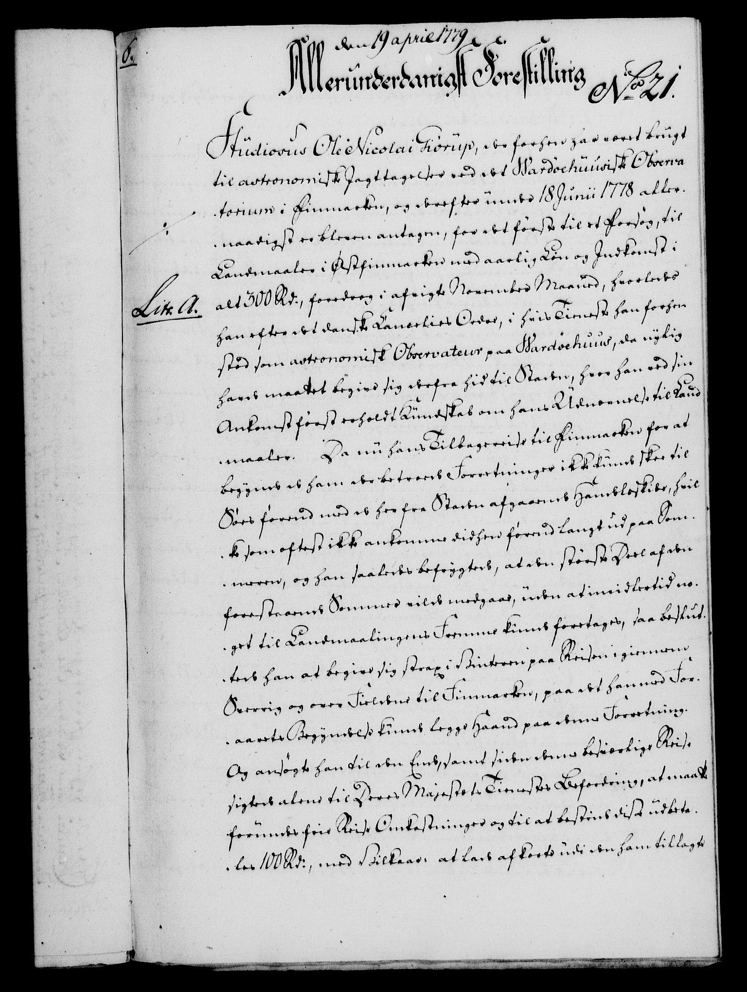 RA, Rentekammeret, Kammerkanselliet, G/Gf/Gfa/L0061: Norsk relasjons- og resolusjonsprotokoll (merket RK 52.61), 1779, s. 176