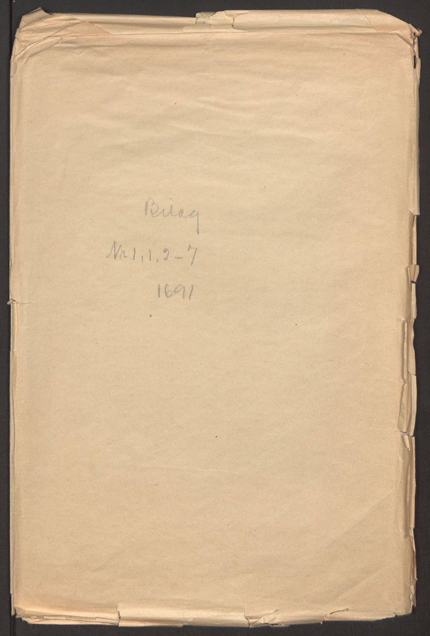 RA, Rentekammeret inntil 1814, Reviderte regnskaper, Fogderegnskap, R51/L3181: Fogderegnskap Nordhordland og Voss, 1691-1692, s. 170