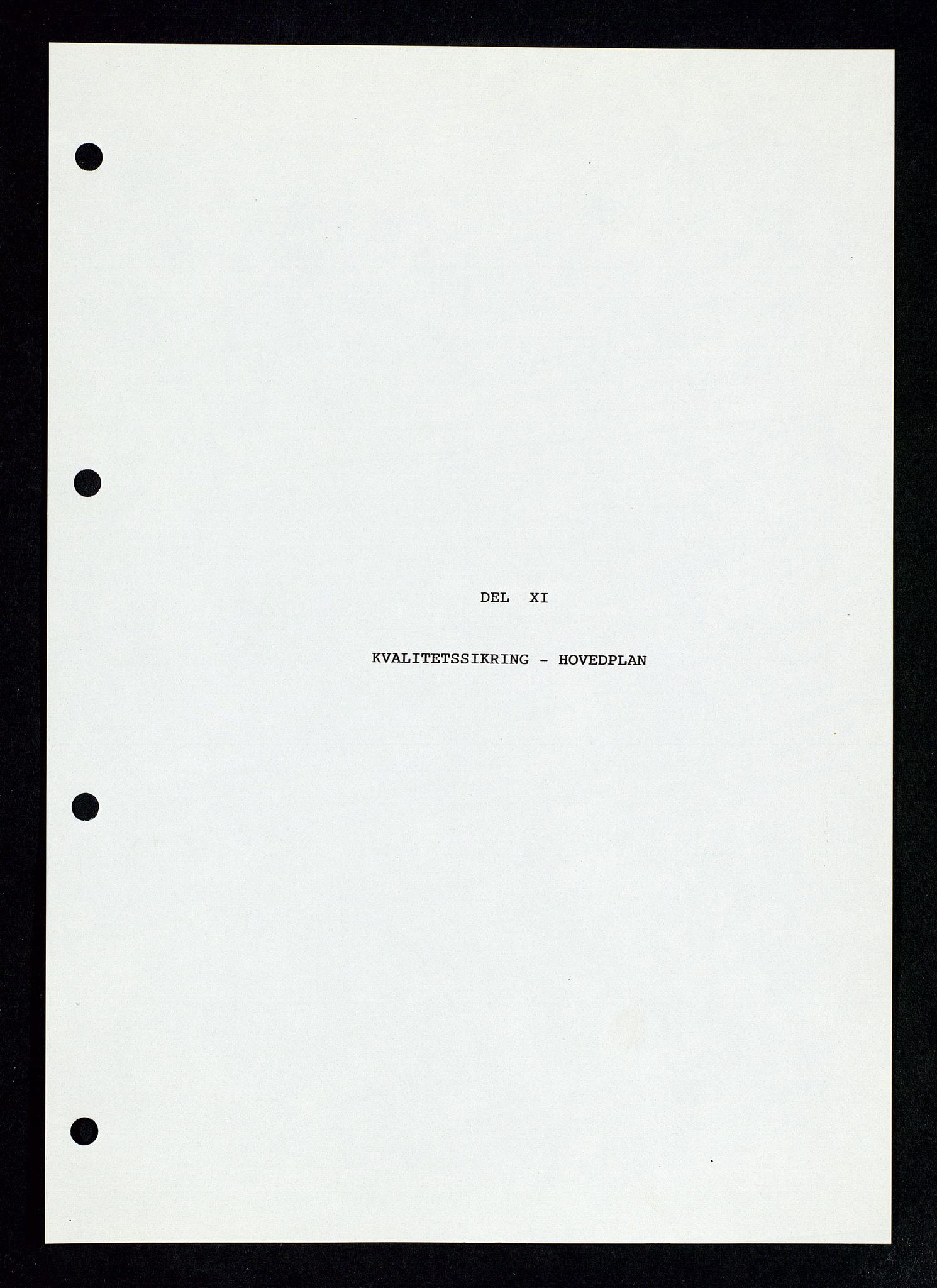 SAST, Pa 1339 - Statoil ASA, D/Dm/L0123: Rapporter, 1985-1988, s. 69