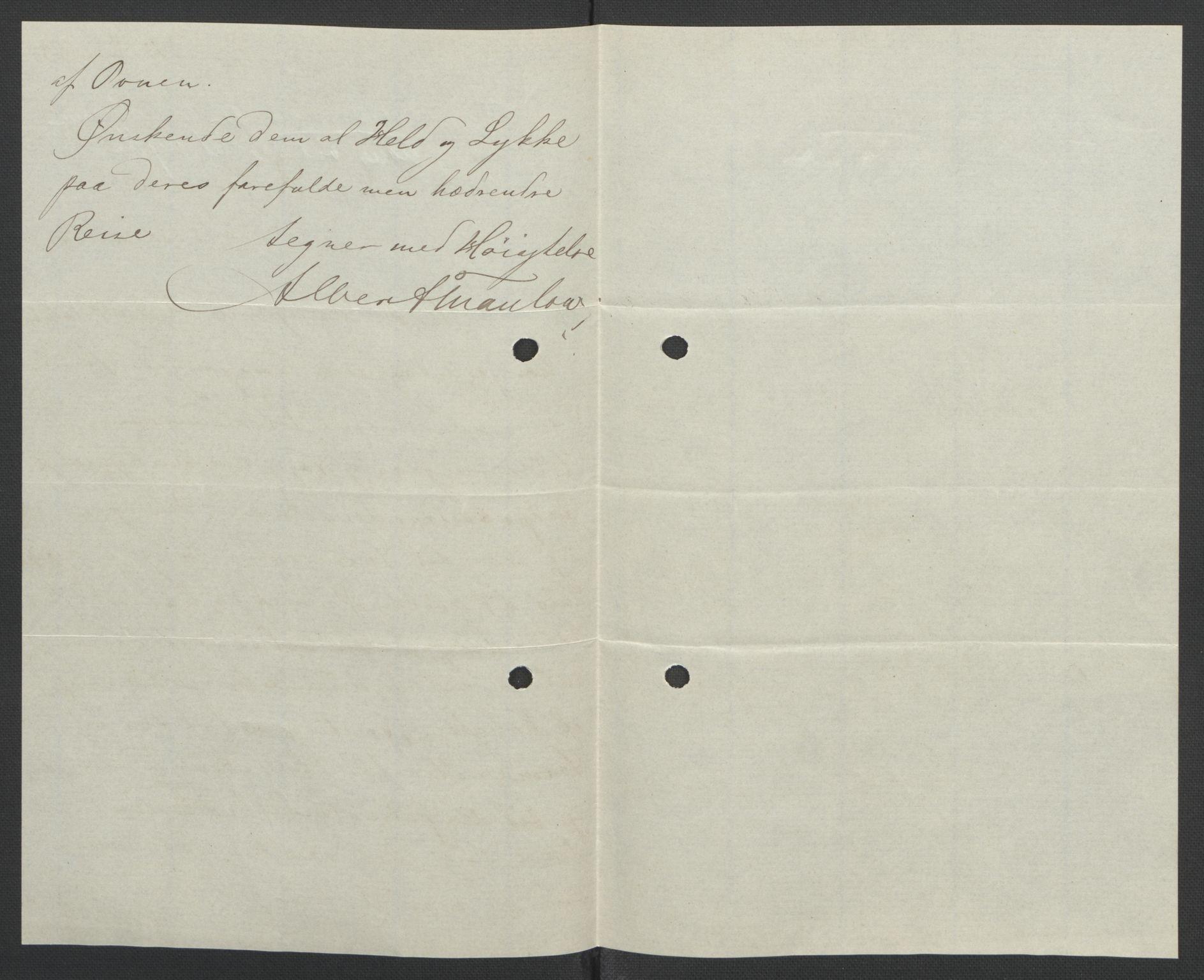 RA, Arbeidskomitéen for Fridtjof Nansens polarekspedisjon, D/L0003: Innk. brev og telegrammer vedr. proviant og utrustning, 1893, s. 369