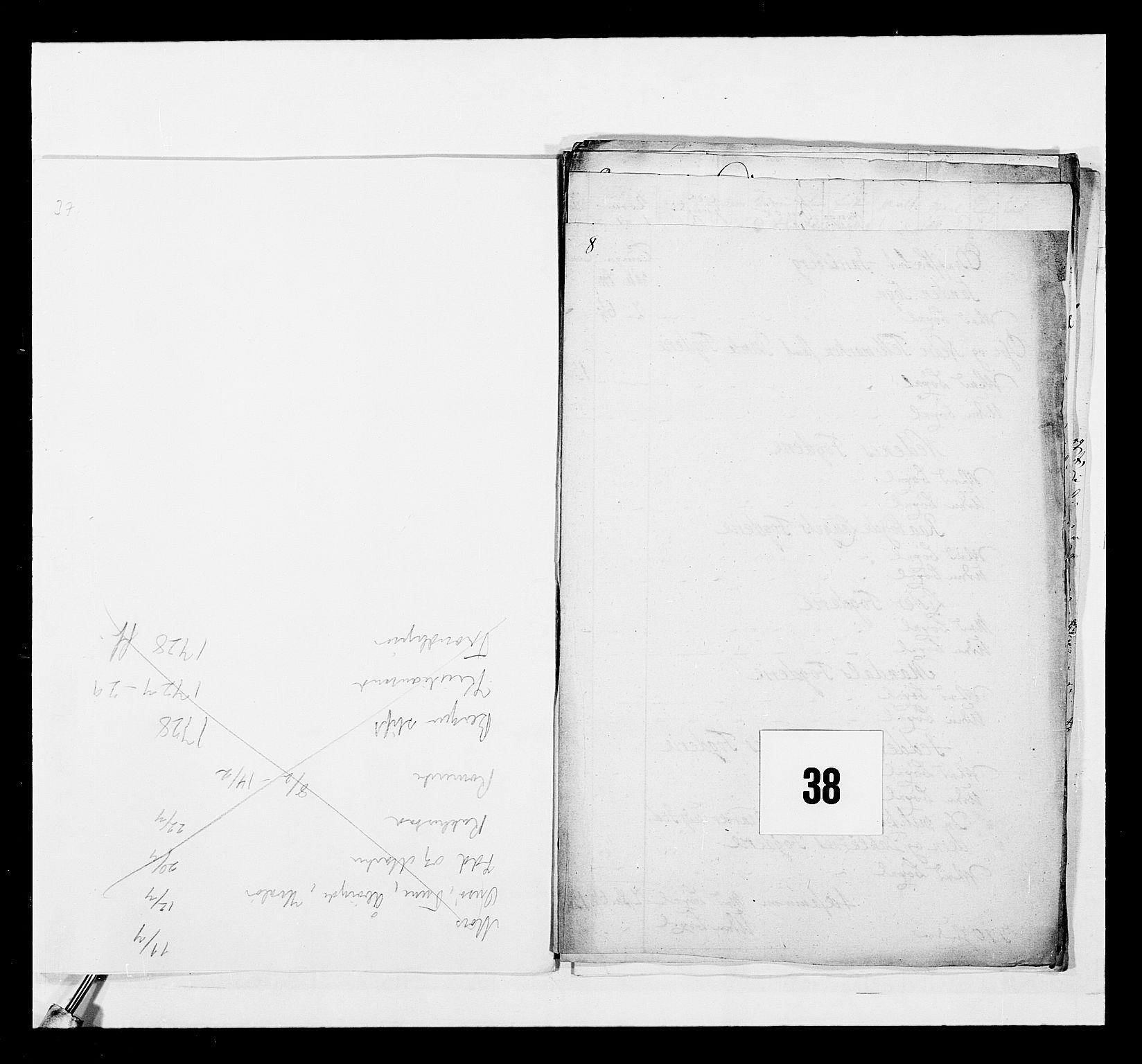RA, Stattholderembetet 1572-1771, Ek/L0040: Jordebøker o.a. 1720-1728 vedkommende krongodset:, 1726-1727, s. 197