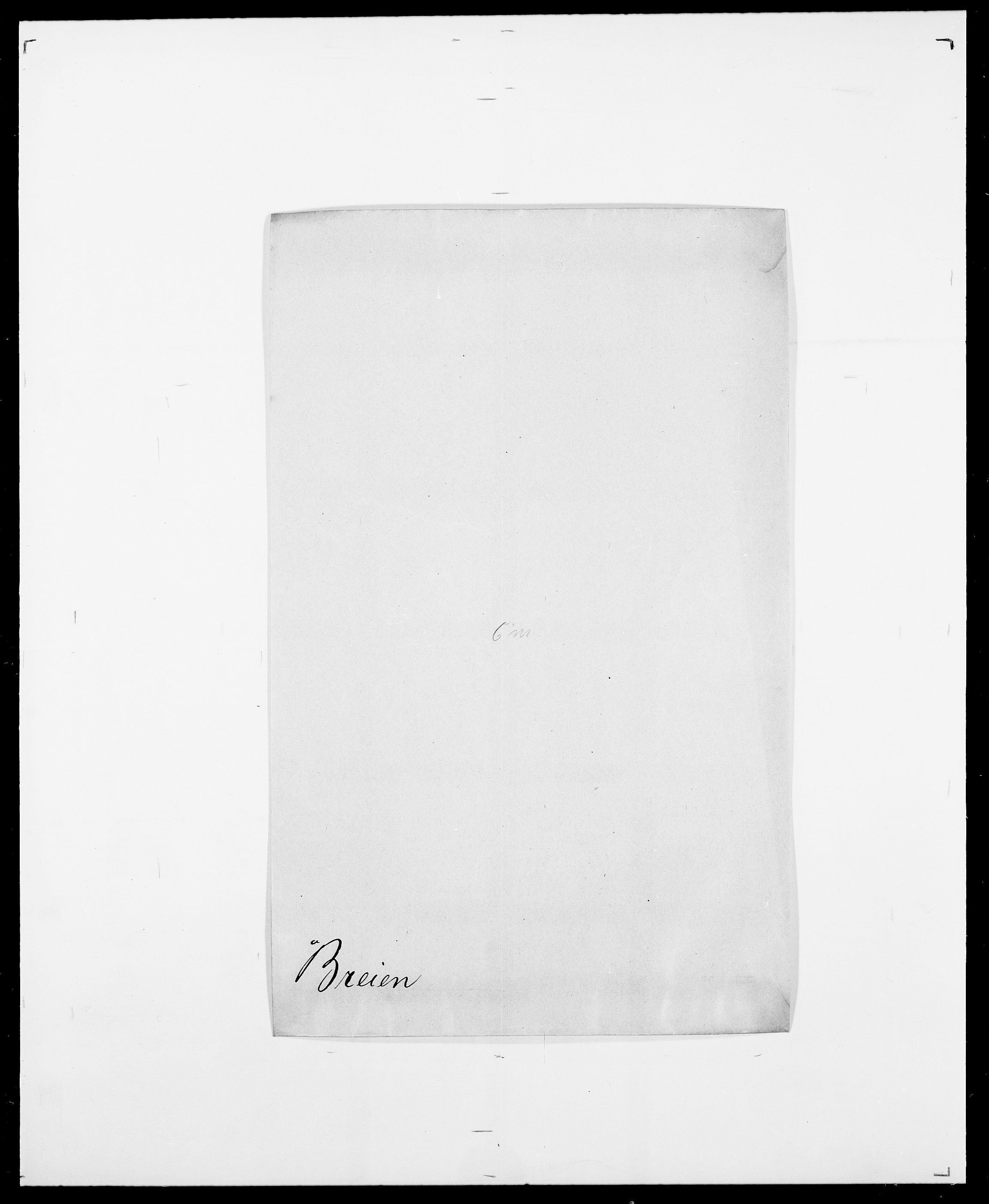 SAO, Delgobe, Charles Antoine - samling, D/Da/L0006: Brambani - Brønø, s. 278