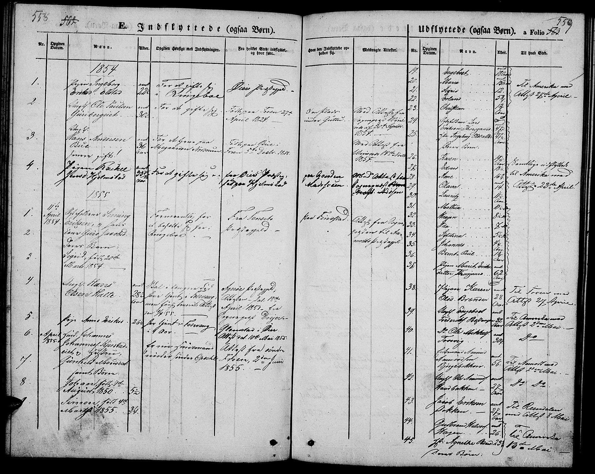 SAH, Ringebu prestekontor, Klokkerbok nr. 3, 1854-1866, s. 558-559