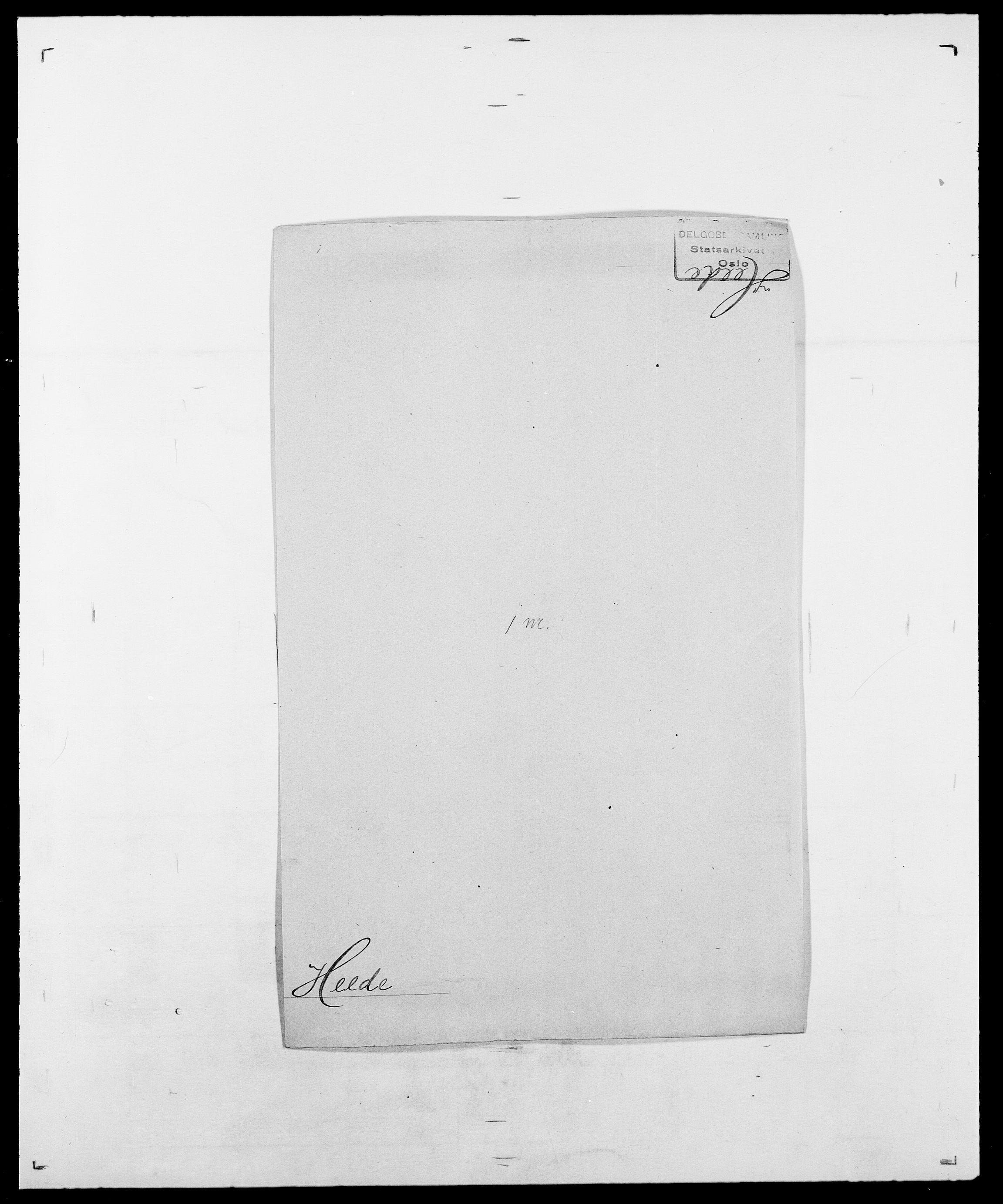 SAO, Delgobe, Charles Antoine - samling, D/Da/L0016: Hamborg - Hektoen, s. 684