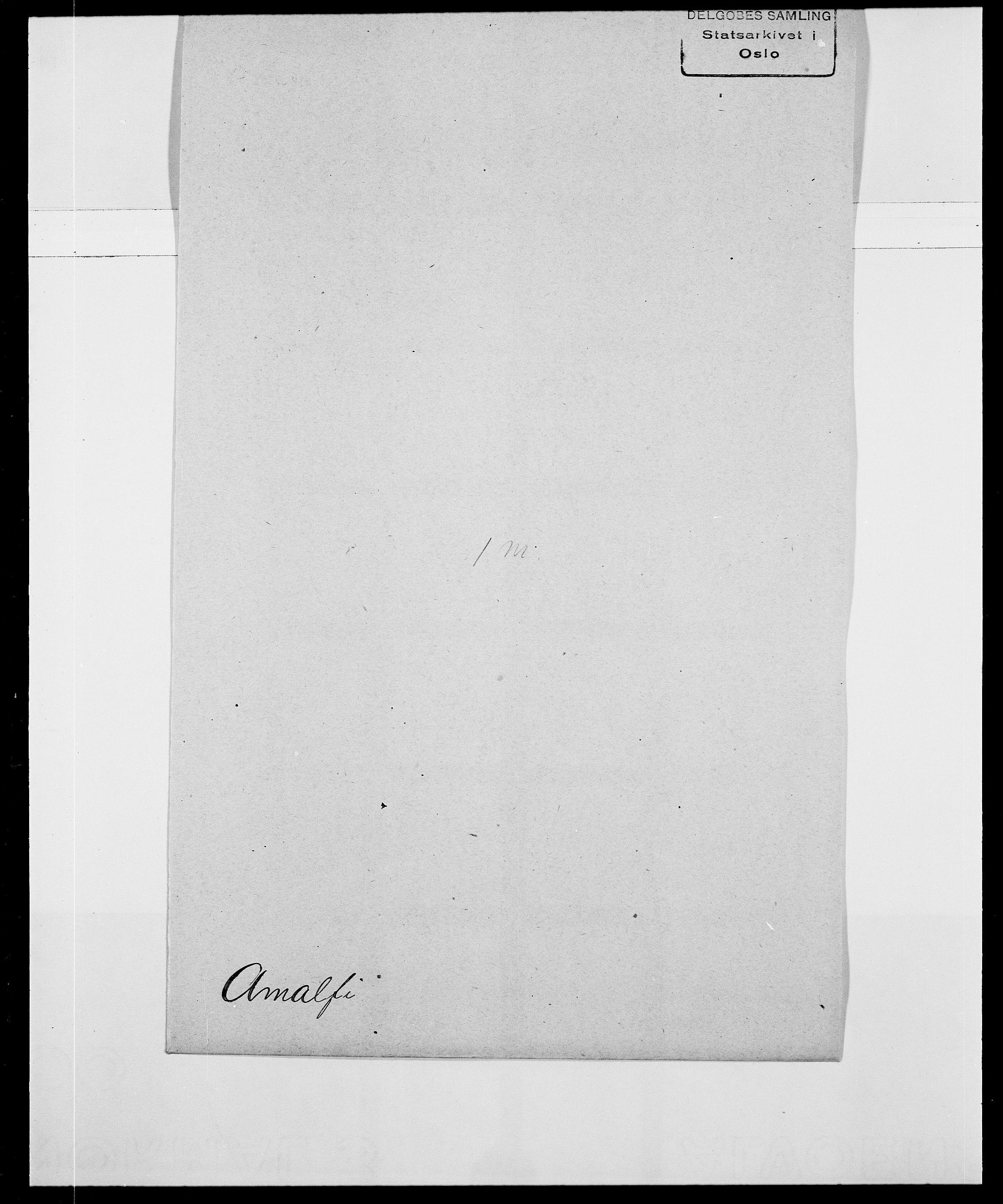SAO, Delgobe, Charles Antoine - samling, D/Da/L0001: Aabye - Angerman, s. 507