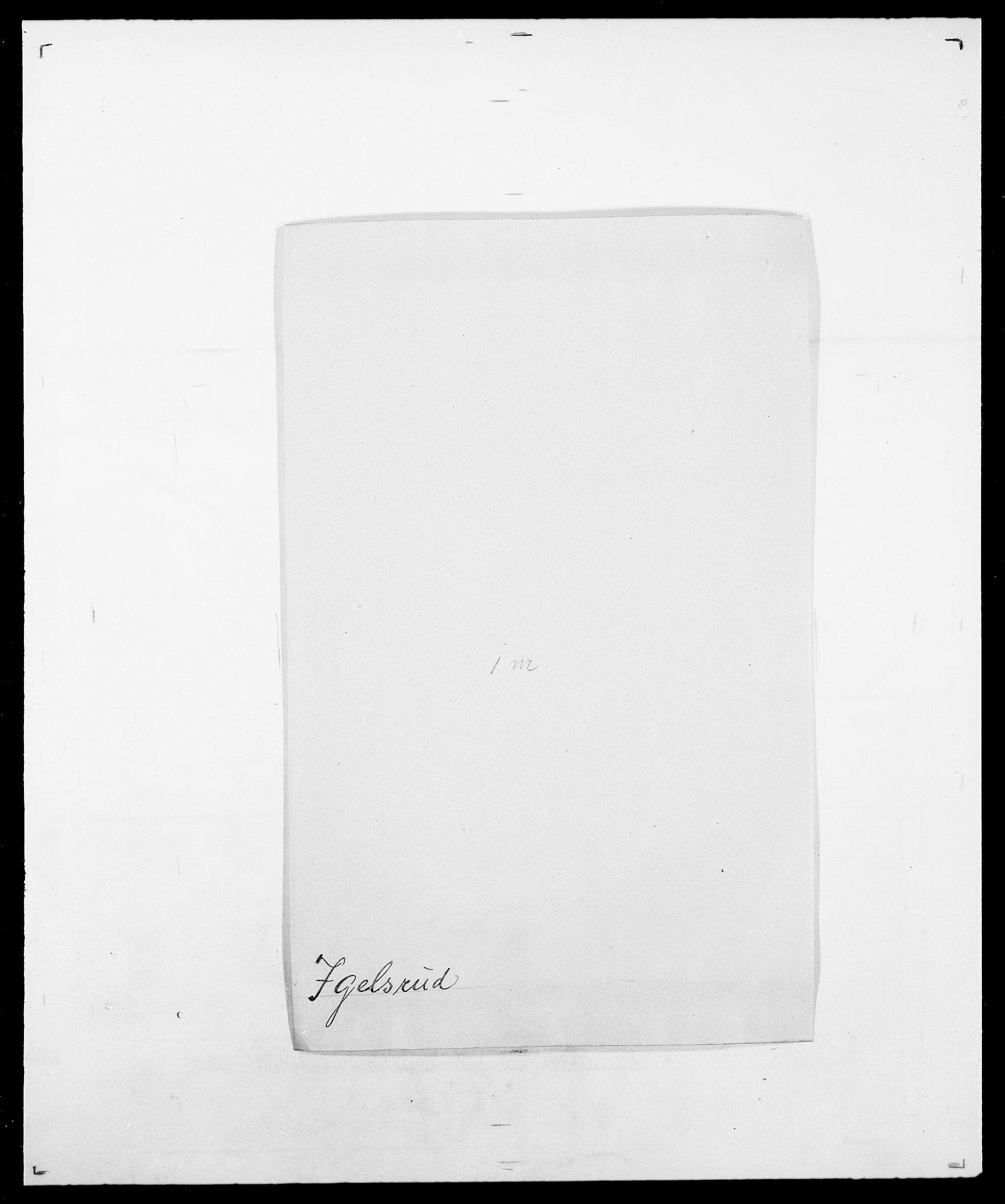 SAO, Delgobe, Charles Antoine - samling, D/Da/L0019: van der Hude - Joys, s. 753