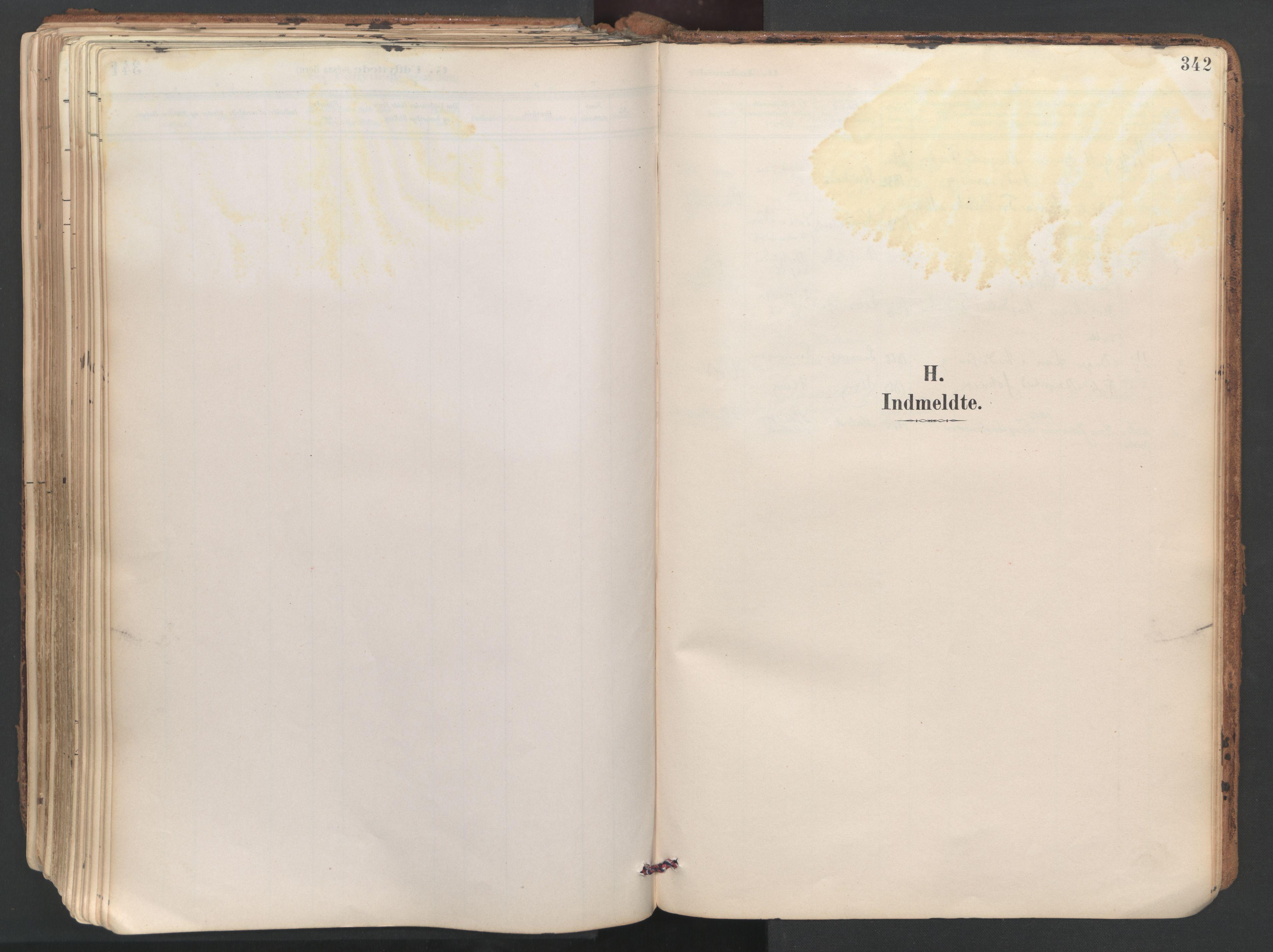 SAT, Ministerialprotokoller, klokkerbøker og fødselsregistre - Sør-Trøndelag, 687/L1004: Ministerialbok nr. 687A10, 1891-1923, s. 342