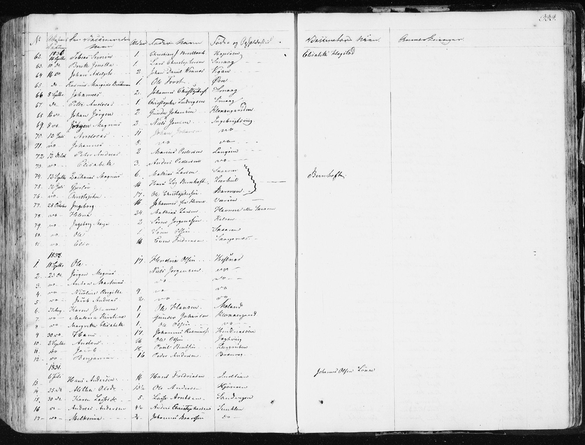SAT, Ministerialprotokoller, klokkerbøker og fødselsregistre - Sør-Trøndelag, 634/L0528: Ministerialbok nr. 634A04, 1827-1842, s. 333