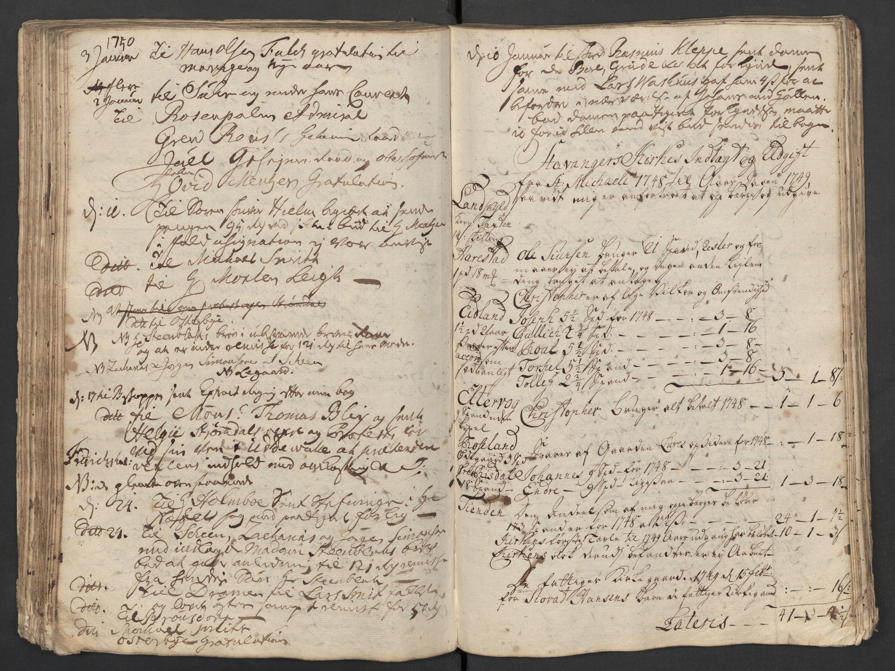 SAST, Pa 0119 - Smith, Lauritz Andersen og Lauritz Lauritzen, O/L0001: Kopibøker m.m., 1746-1755, s. 107