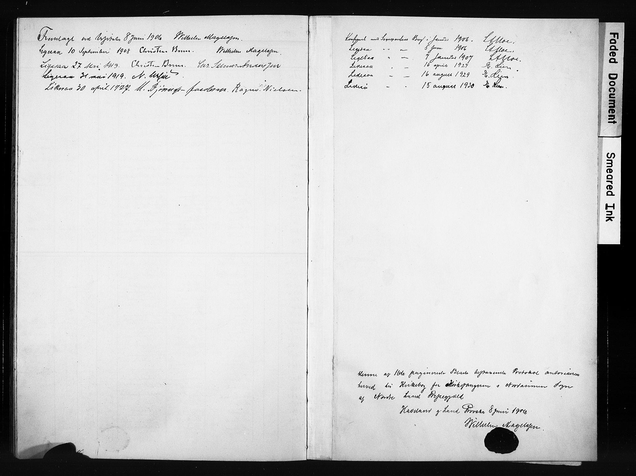 SAH, Nordre Land prestekontor, Klokkerbok nr. 6, 1905-1929, s. 167