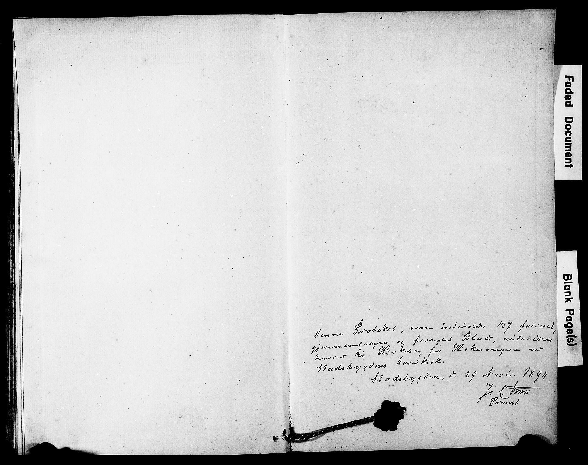 SAT, Ministerialprotokoller, klokkerbøker og fødselsregistre - Sør-Trøndelag, 646/L0628: Klokkerbok nr. 646C01, 1880-1903