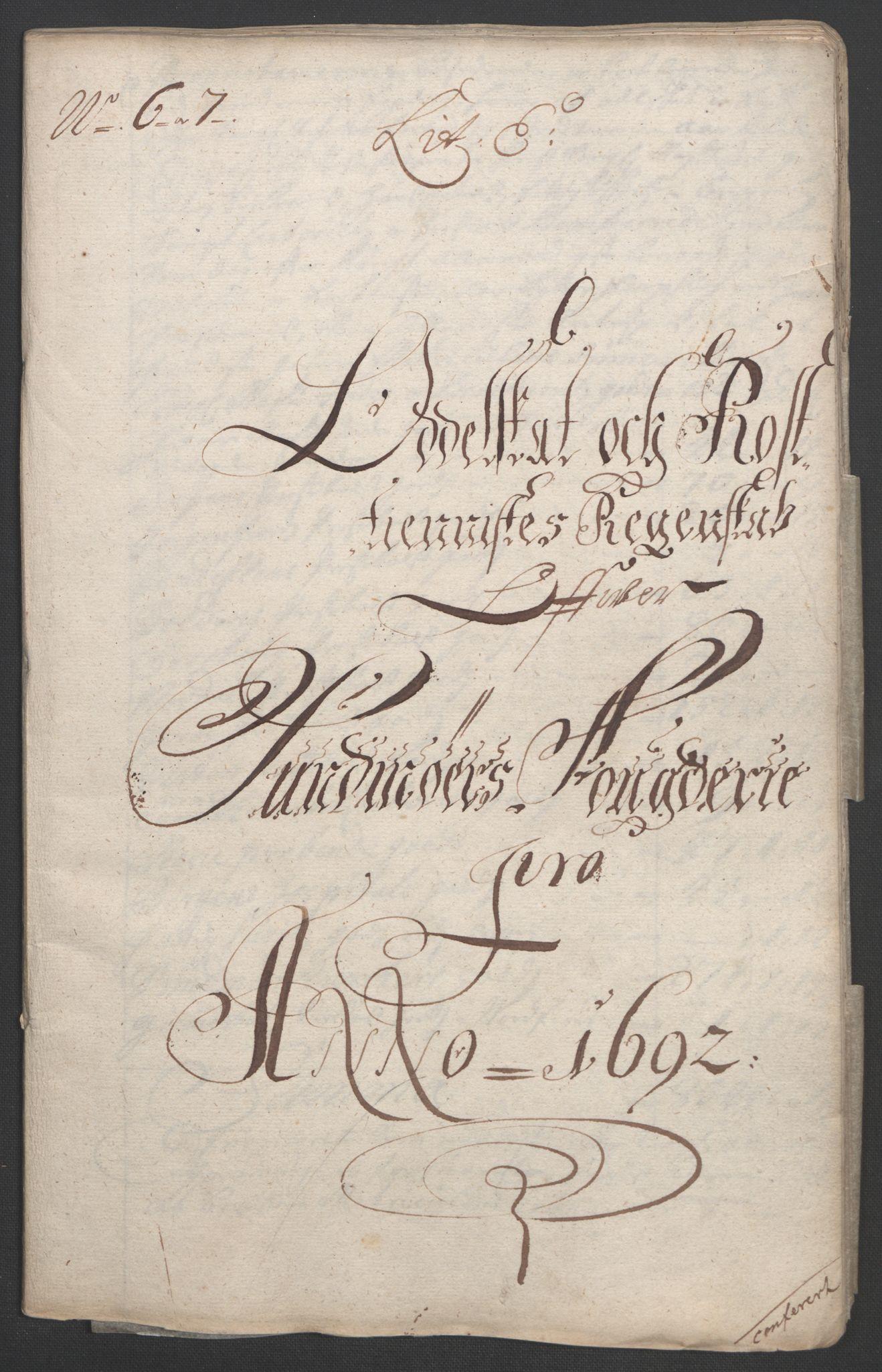 RA, Rentekammeret inntil 1814, Reviderte regnskaper, Fogderegnskap, R54/L3554: Fogderegnskap Sunnmøre, 1691-1693, s. 224