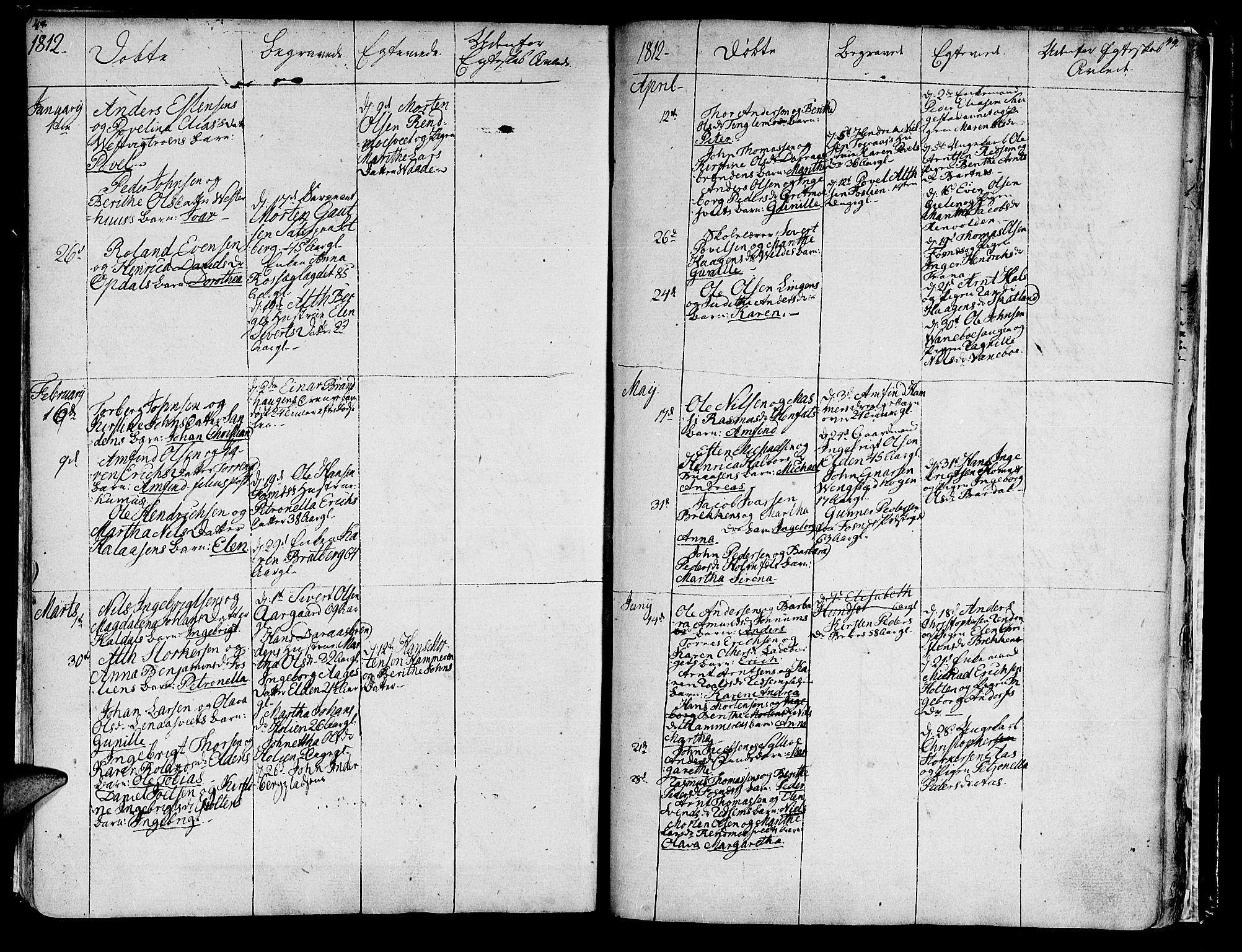 SAT, Ministerialprotokoller, klokkerbøker og fødselsregistre - Nord-Trøndelag, 741/L0386: Ministerialbok nr. 741A02, 1804-1816, s. 48-49