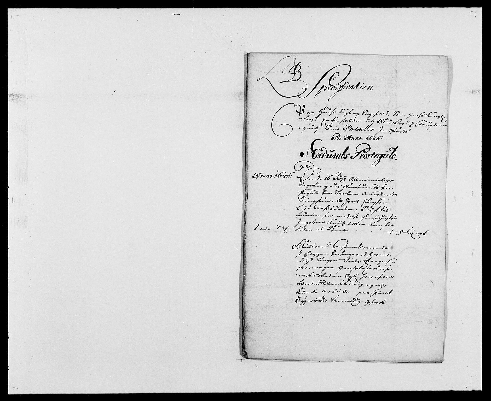 RA, Rentekammeret inntil 1814, Reviderte regnskaper, Fogderegnskap, R25/L1678: Fogderegnskap Buskerud, 1685-1686, s. 251