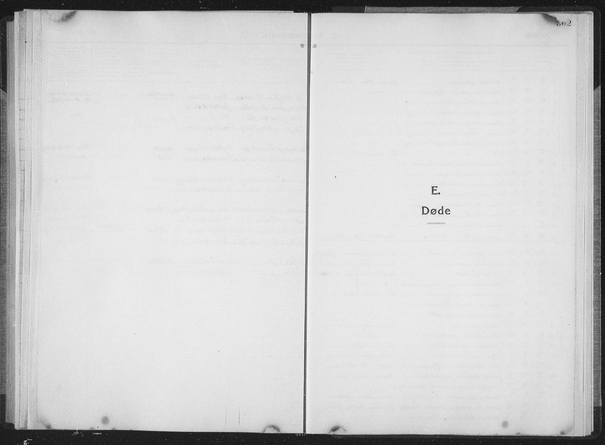 SAT, Ministerialprotokoller, klokkerbøker og fødselsregistre - Sør-Trøndelag, 659/L0747: Klokkerbok nr. 659C04, 1913-1938, s. 302