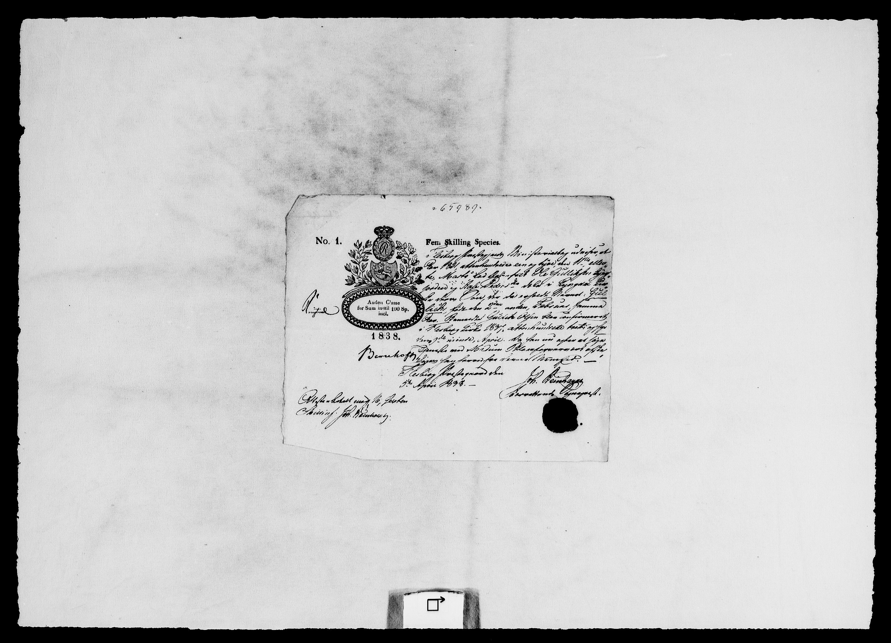RA, Modums Blaafarveværk, G/Gg/L0374, 1822-1848, s. 2