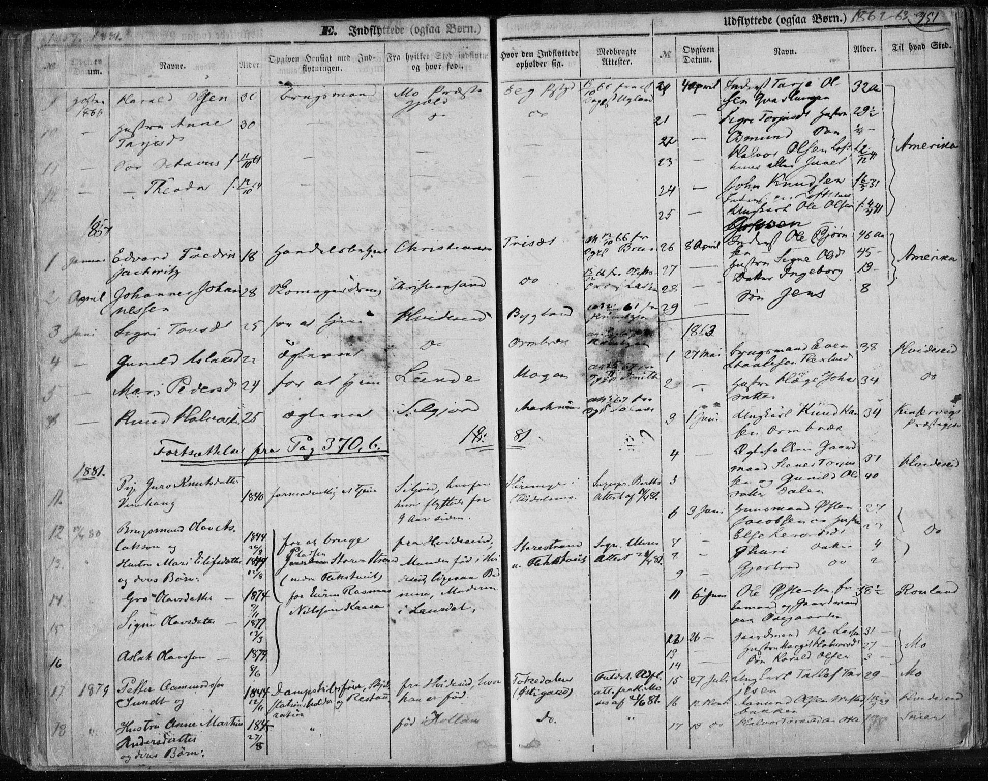SAKO, Lårdal kirkebøker, F/Fa/L0006: Ministerialbok nr. I 6, 1861-1886, s. 351