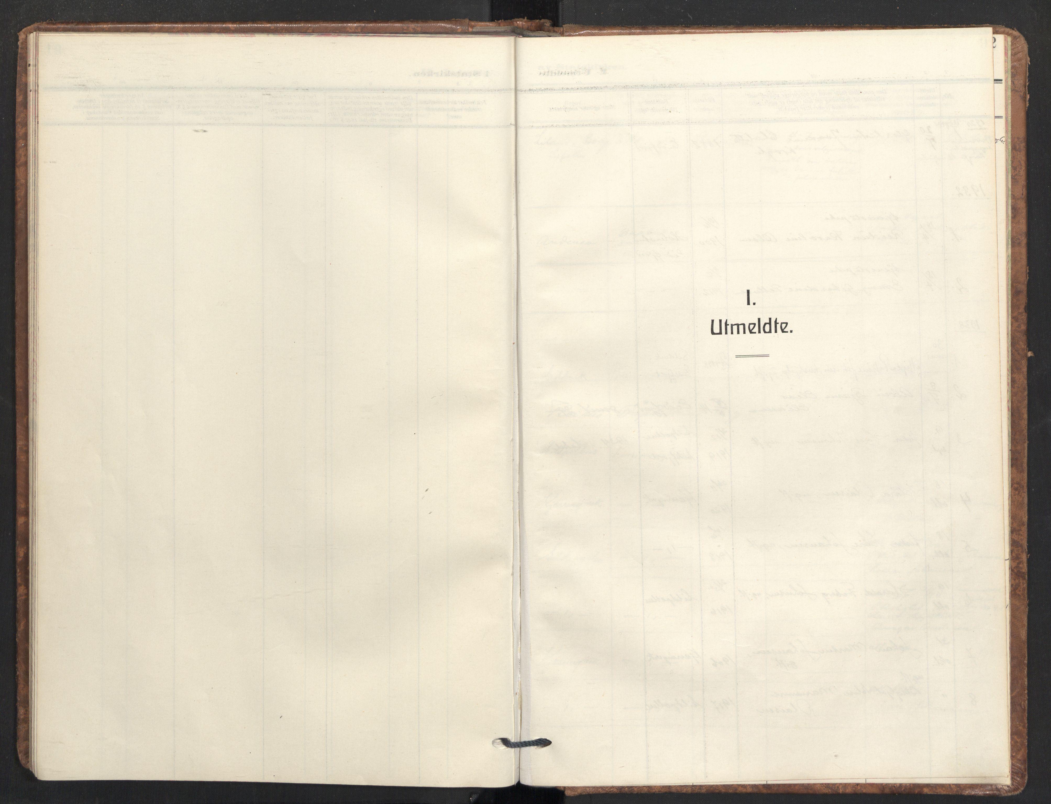 SAT, Ministerialprotokoller, klokkerbøker og fødselsregistre - Nordland, 890/L1289: Ministerialbok nr. 890A04, 1925-1939