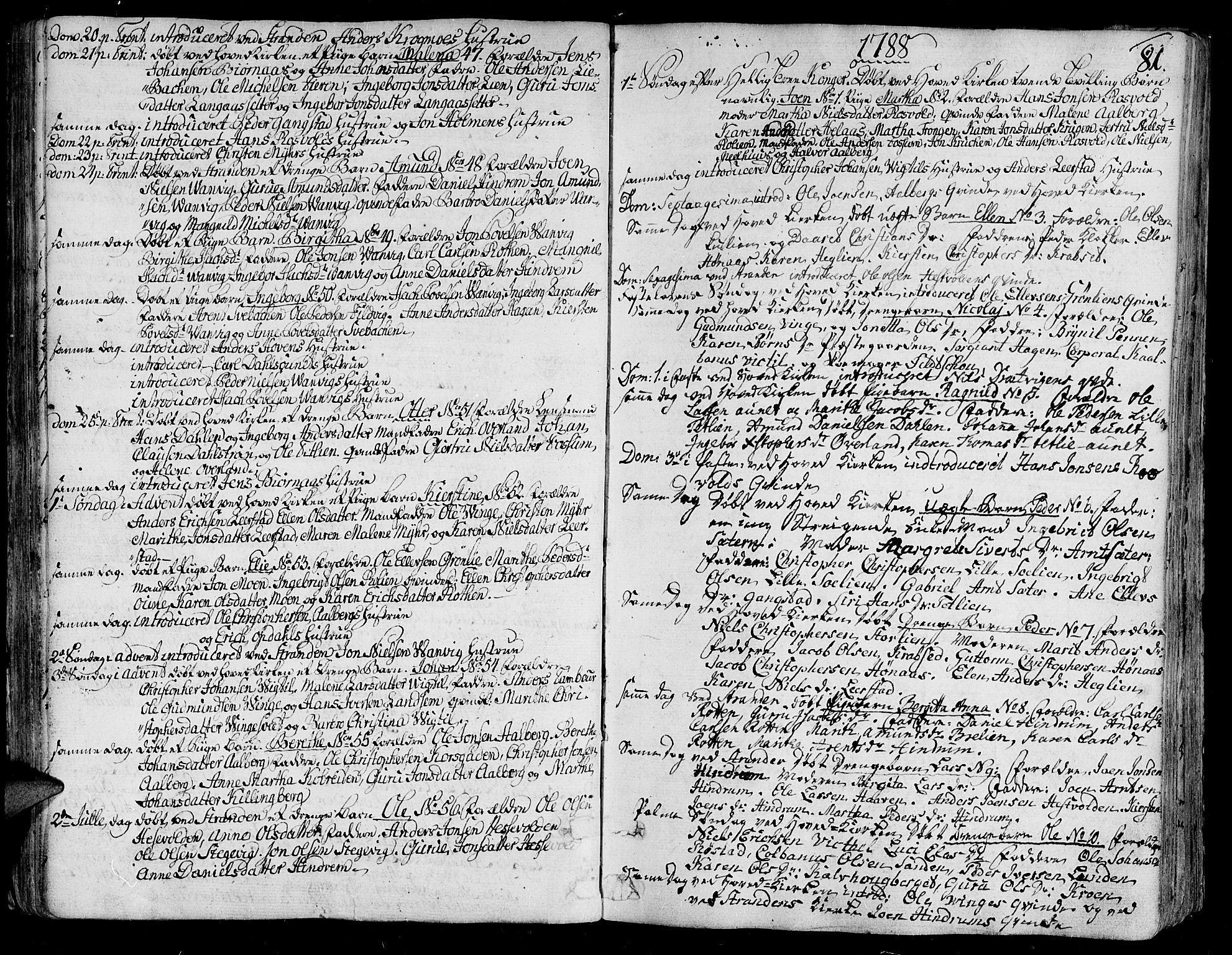 SAT, Ministerialprotokoller, klokkerbøker og fødselsregistre - Nord-Trøndelag, 701/L0004: Ministerialbok nr. 701A04, 1783-1816, s. 81
