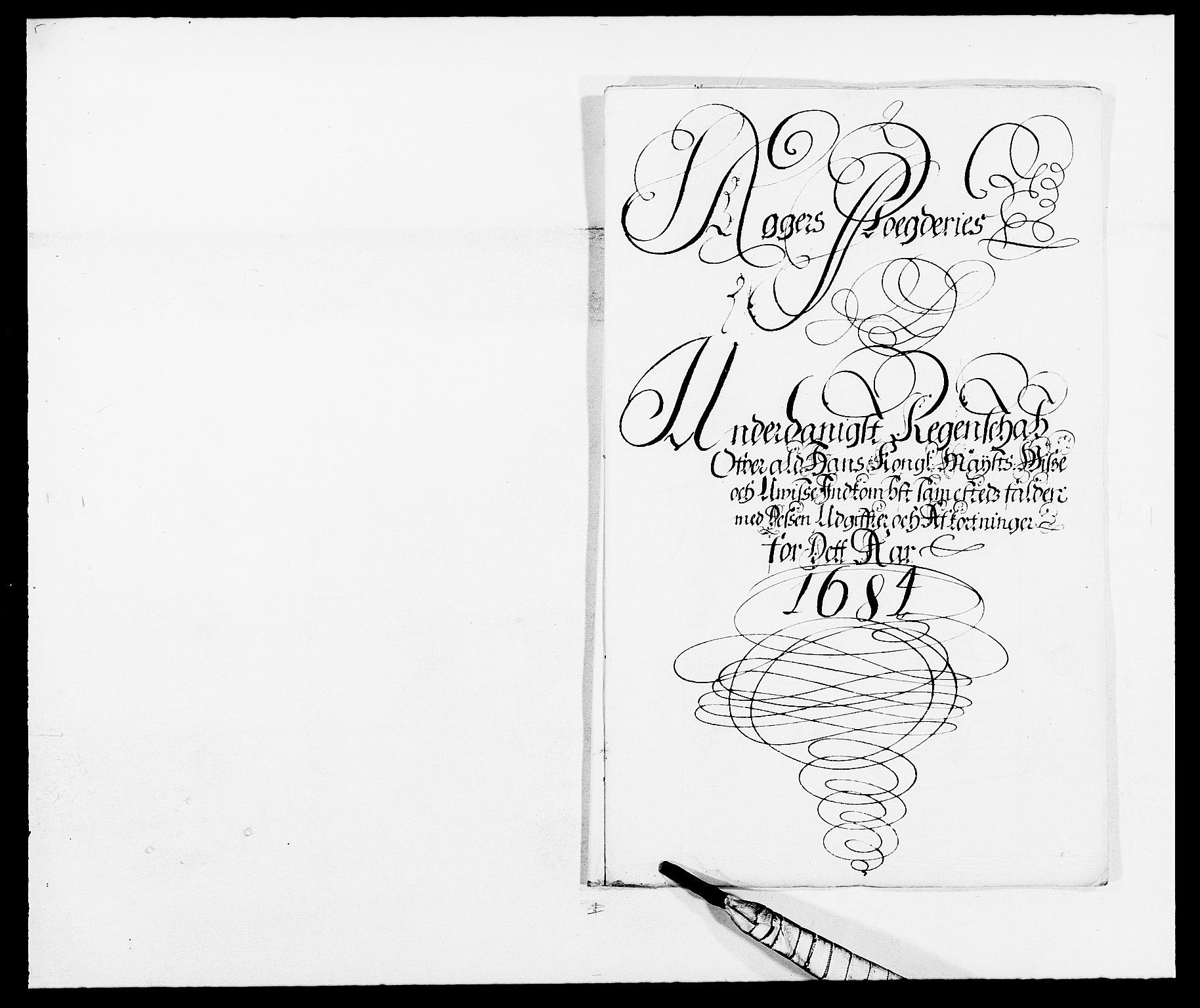 RA, Rentekammeret inntil 1814, Reviderte regnskaper, Fogderegnskap, R08/L0421: Fogderegnskap Aker, 1682-1683, s. 2