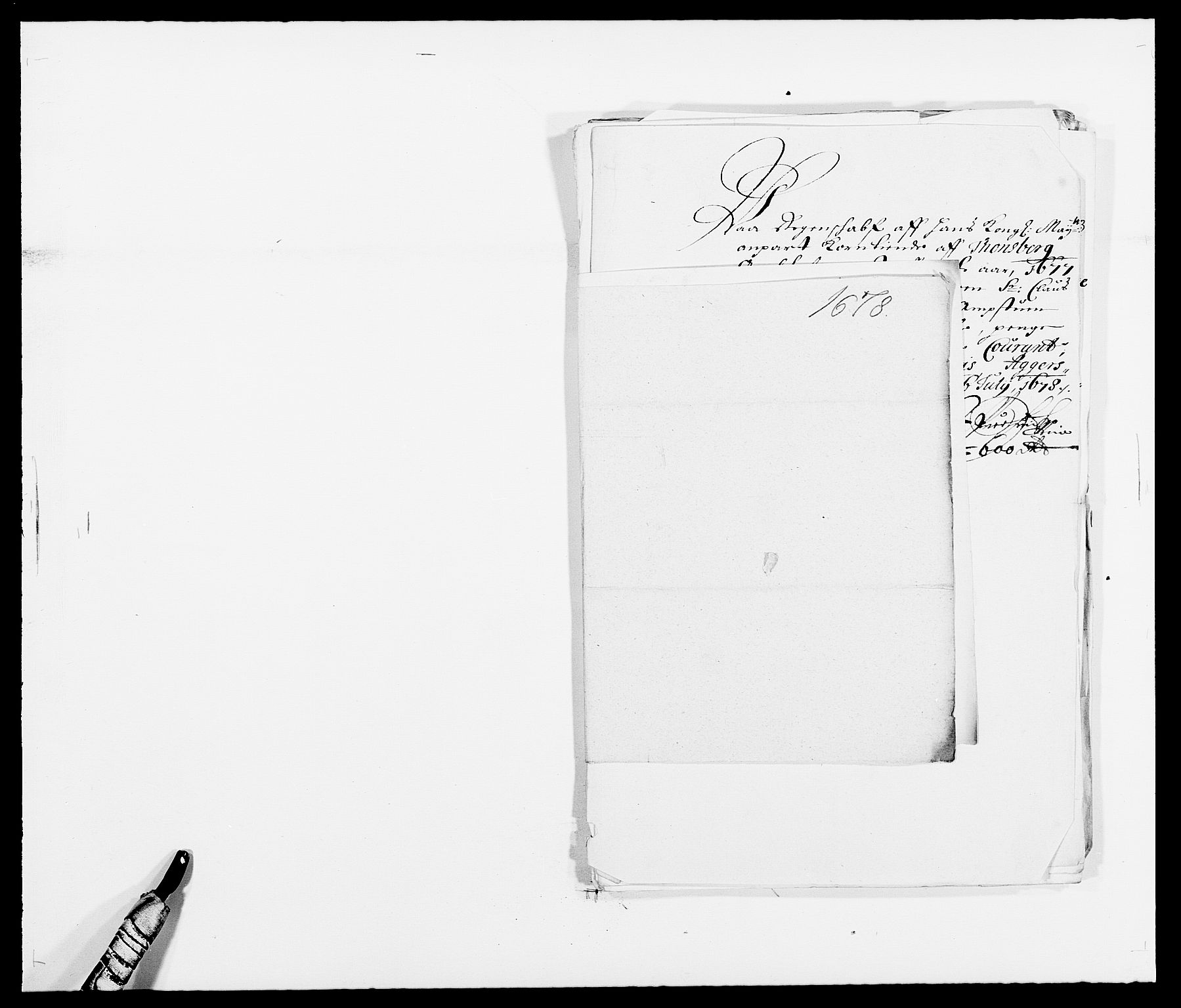 RA, Rentekammeret inntil 1814, Reviderte regnskaper, Fogderegnskap, R32/L1845: Fogderegnskap Jarlsberg grevskap, 1676-1678, s. 456